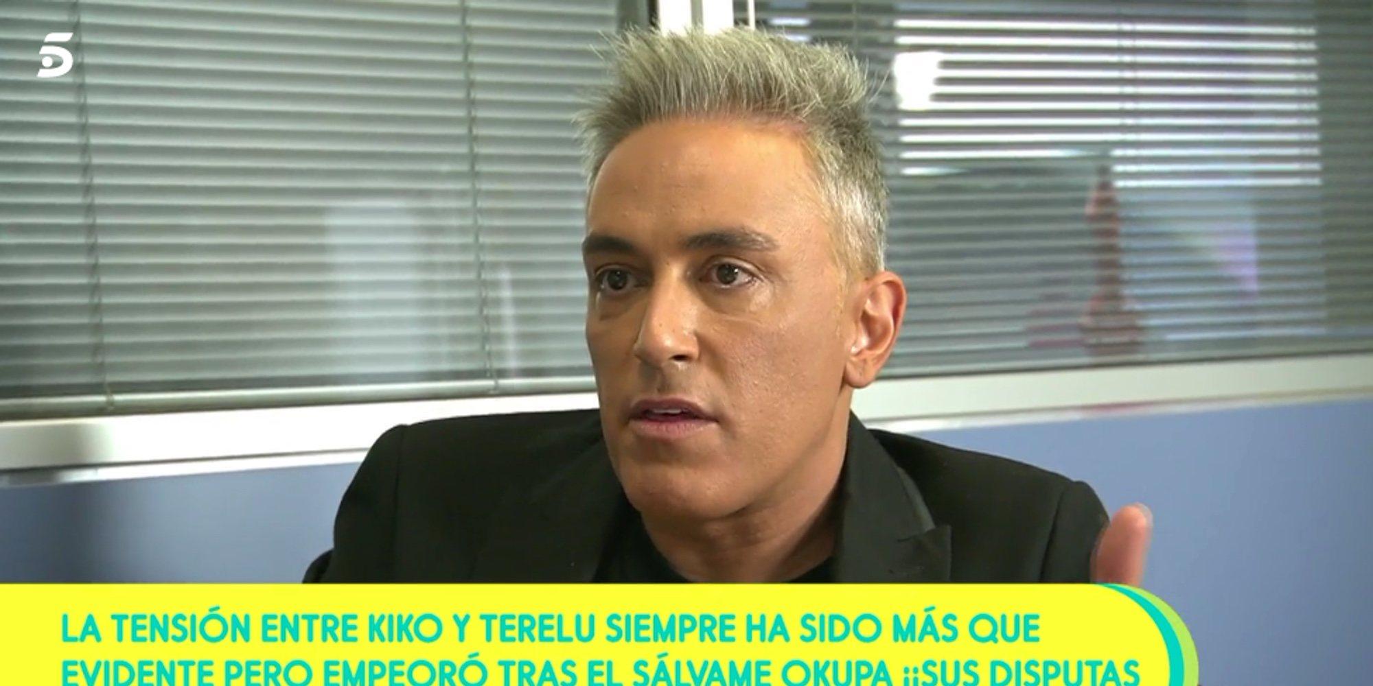 """Kiko Hernández: """"La culpa de que Terelu Campos no esté en 'Sálvame' es de su hermana Carmen Borrego"""""""