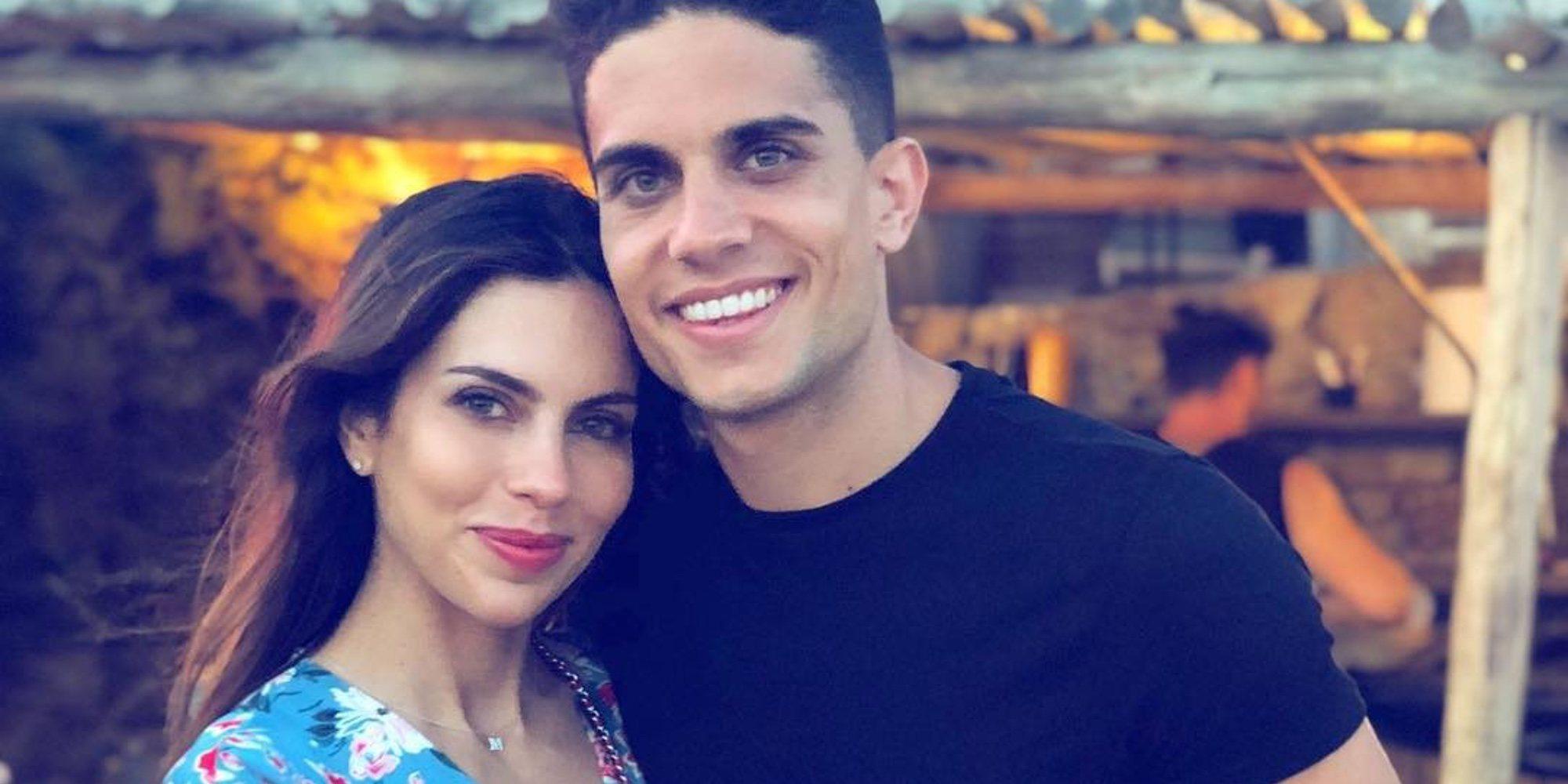 Marc Bartra y Melissa Jiménez serán padres por tercera vez