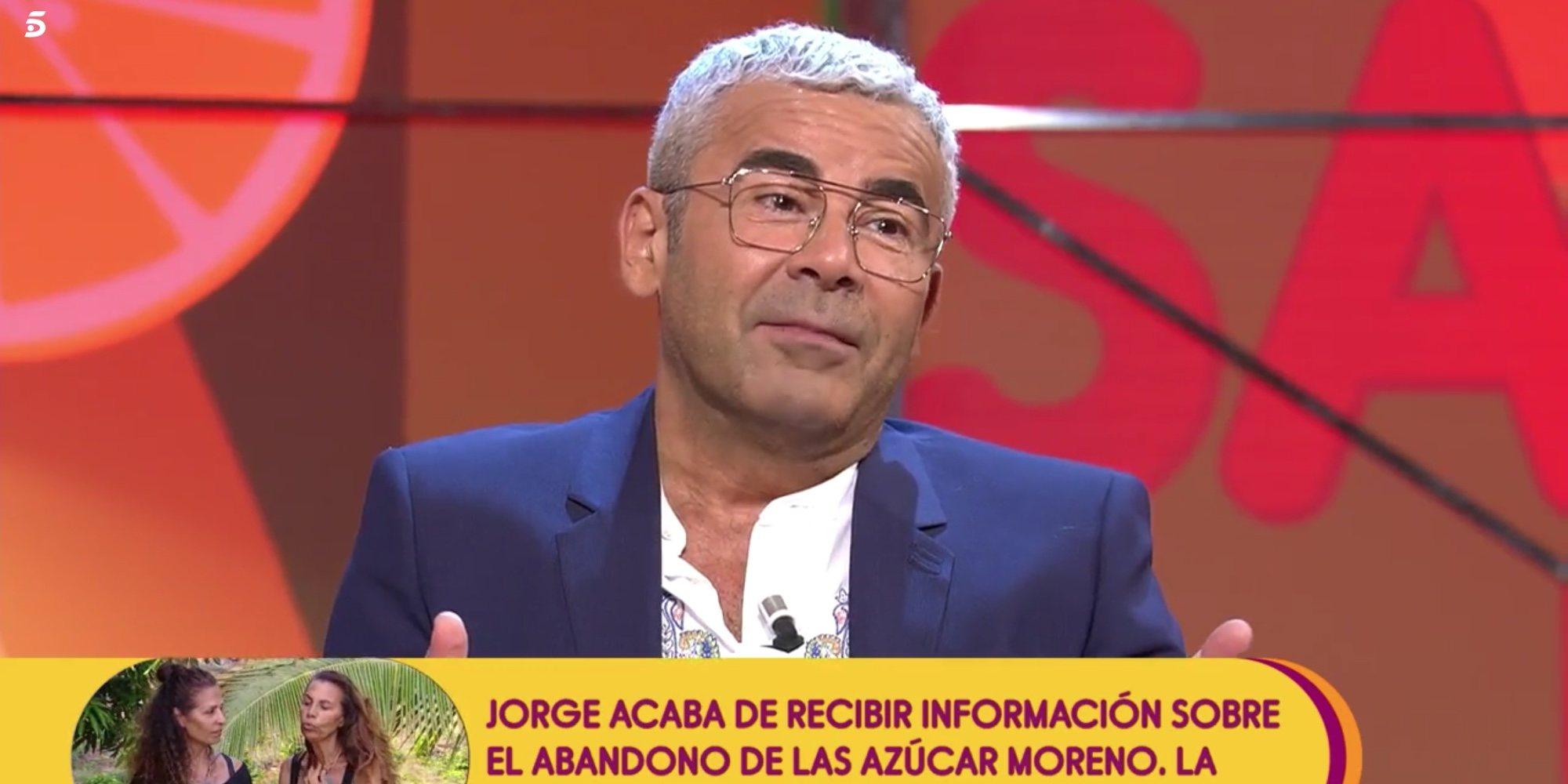 "La confesión amorosa de Jorge Javier Vázquez: ""Me gustan jóvenes"""