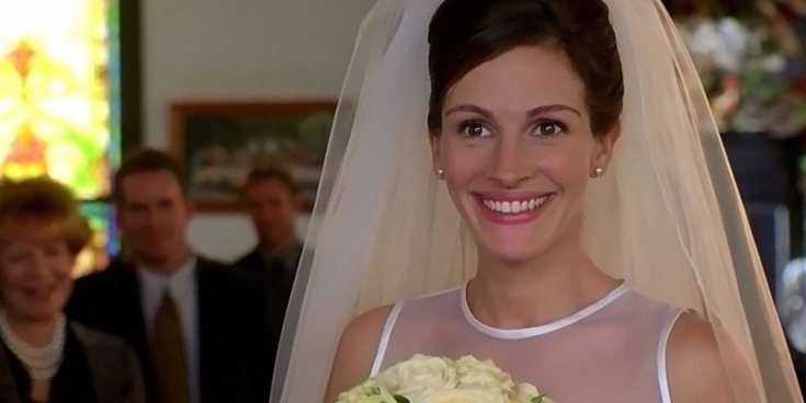 'Novia a la fuga', '27 vestidos' y otras 9 películas sobre bodas