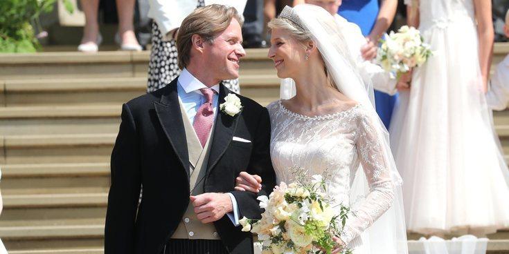 Así fue la boda de Lady Gabriella Windsor y Thomas Kingston: un enlace con gran presencia de la Familia Real Británica