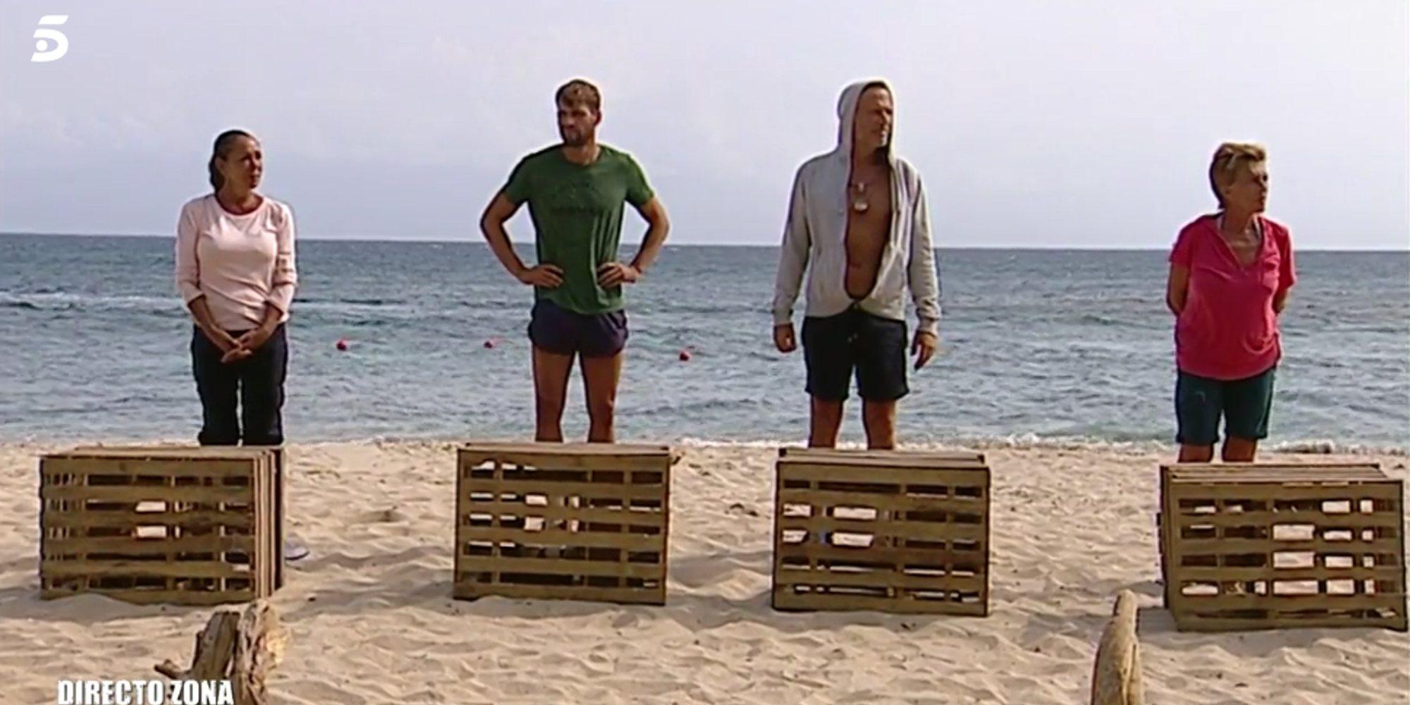 Pantoja y Chelo, solas tras no recibir el apoyo de ningún compañero en las nominaciones de 'Supervivivientes'