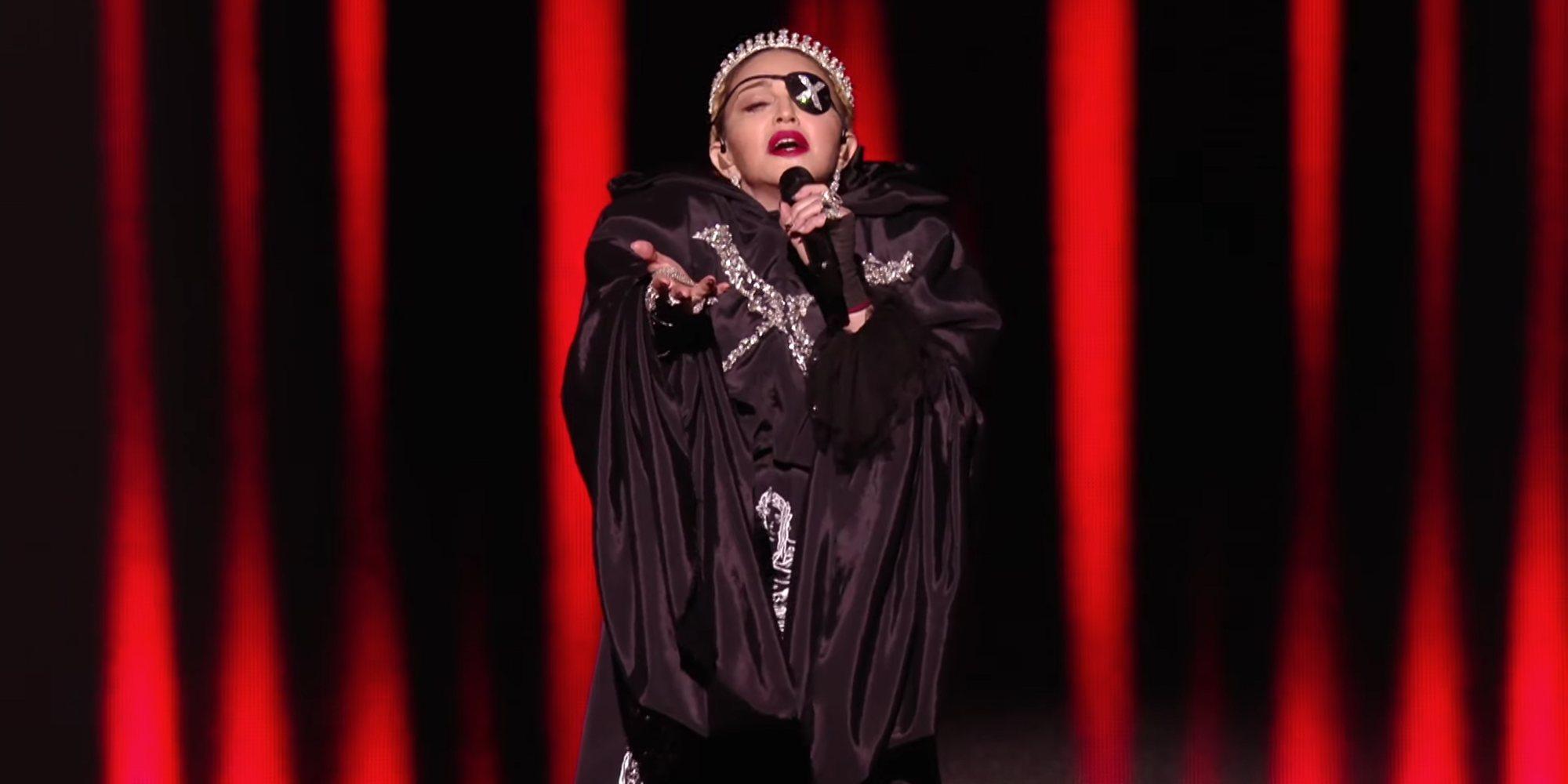 Madonna sube la actuación de Eurovisión 2019 a su canal de Youtube con el sonido editado y sin gallos