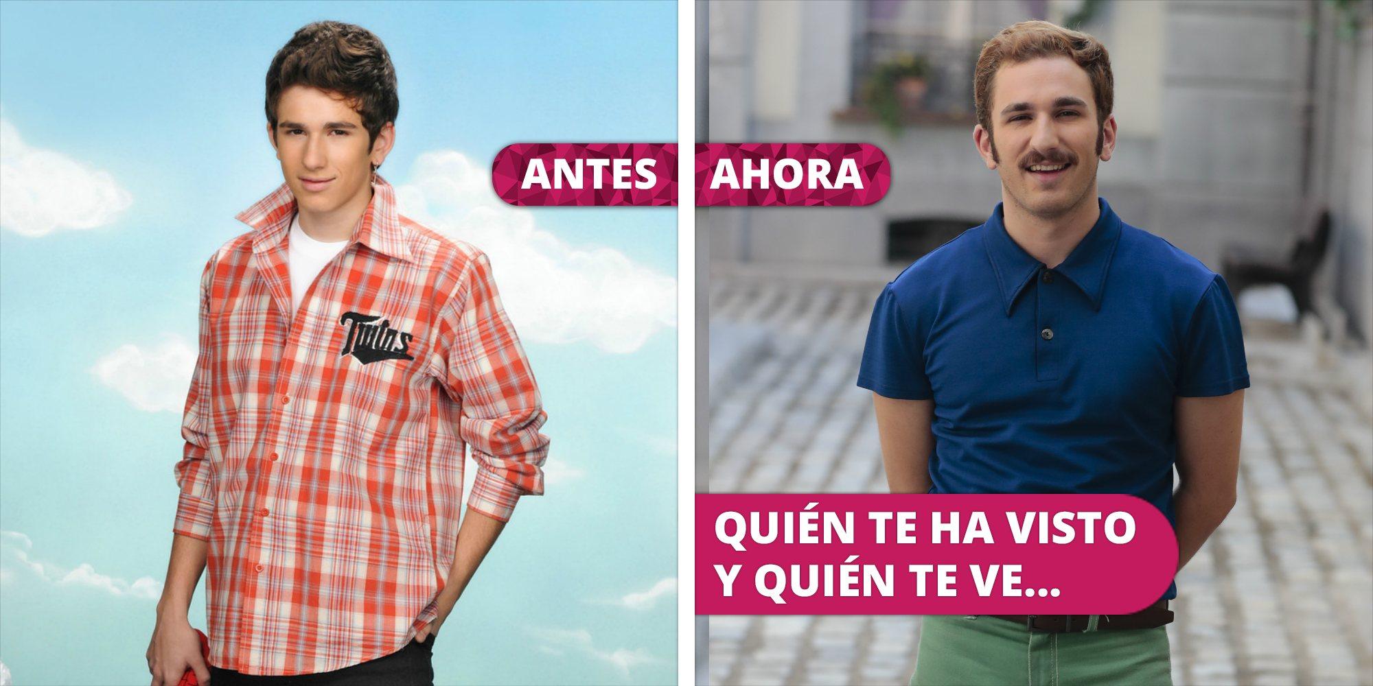 Así ha cambiado David Castillo: De Jonathan en 'Aída' a Miguel en 'Amar es para siempre'