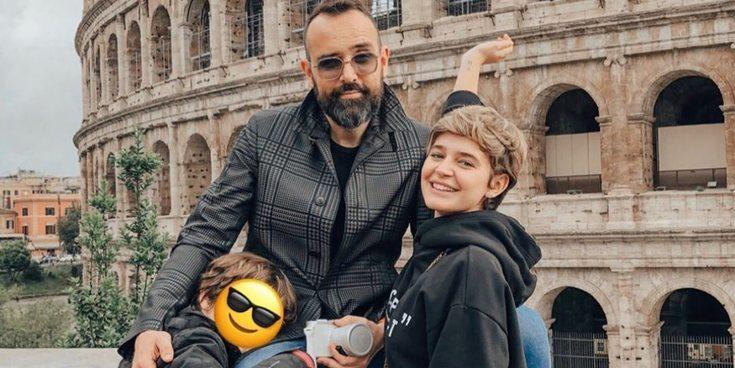 Laura Escanes y Risto Mejide vuelven a Roma, la ciudad que dará nombre a su primera hija en común