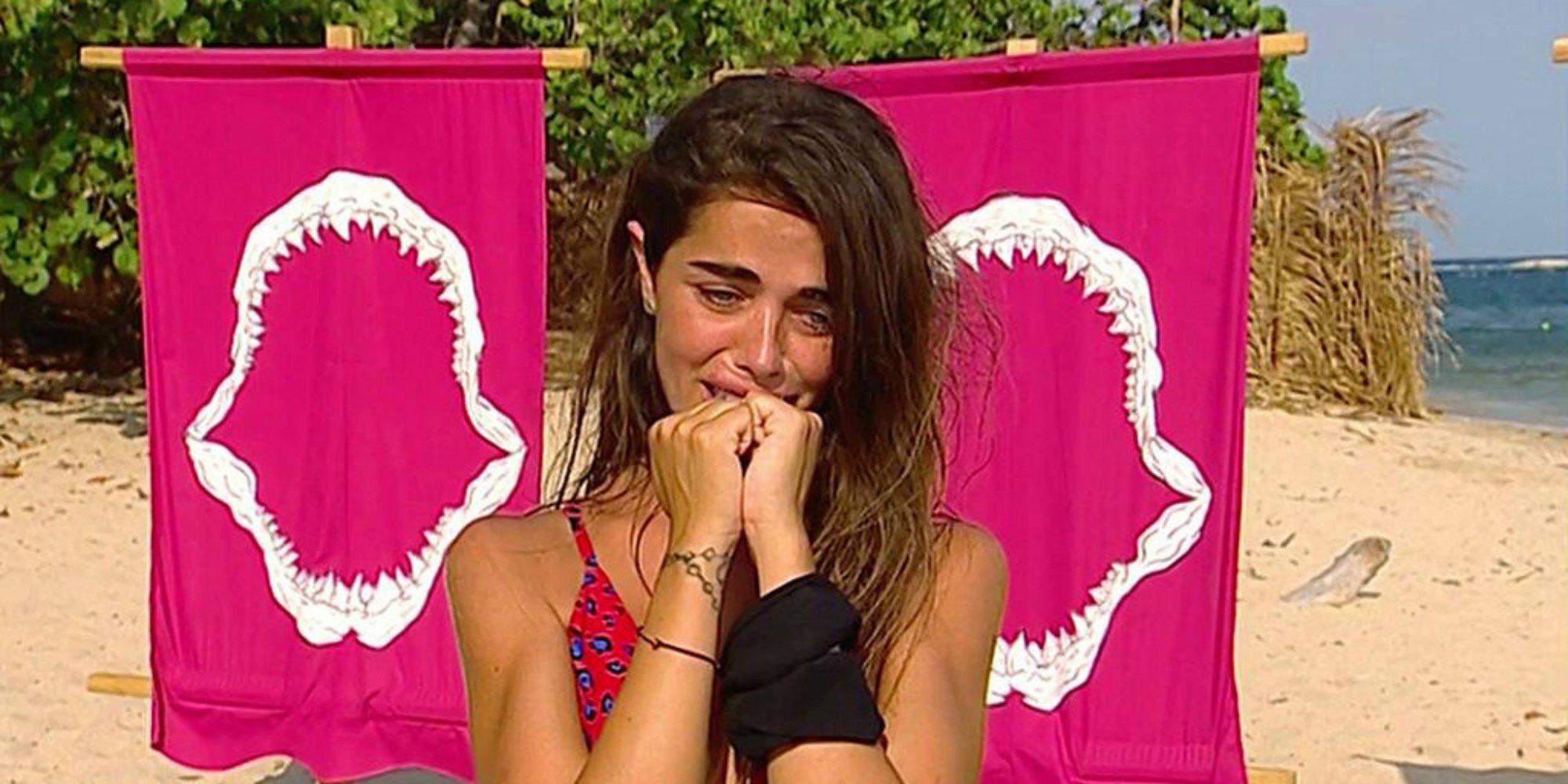 """Violeta pide perdón por su peineta a Jordi González: """"No iba para el presentador, ni para la audiencia"""""""