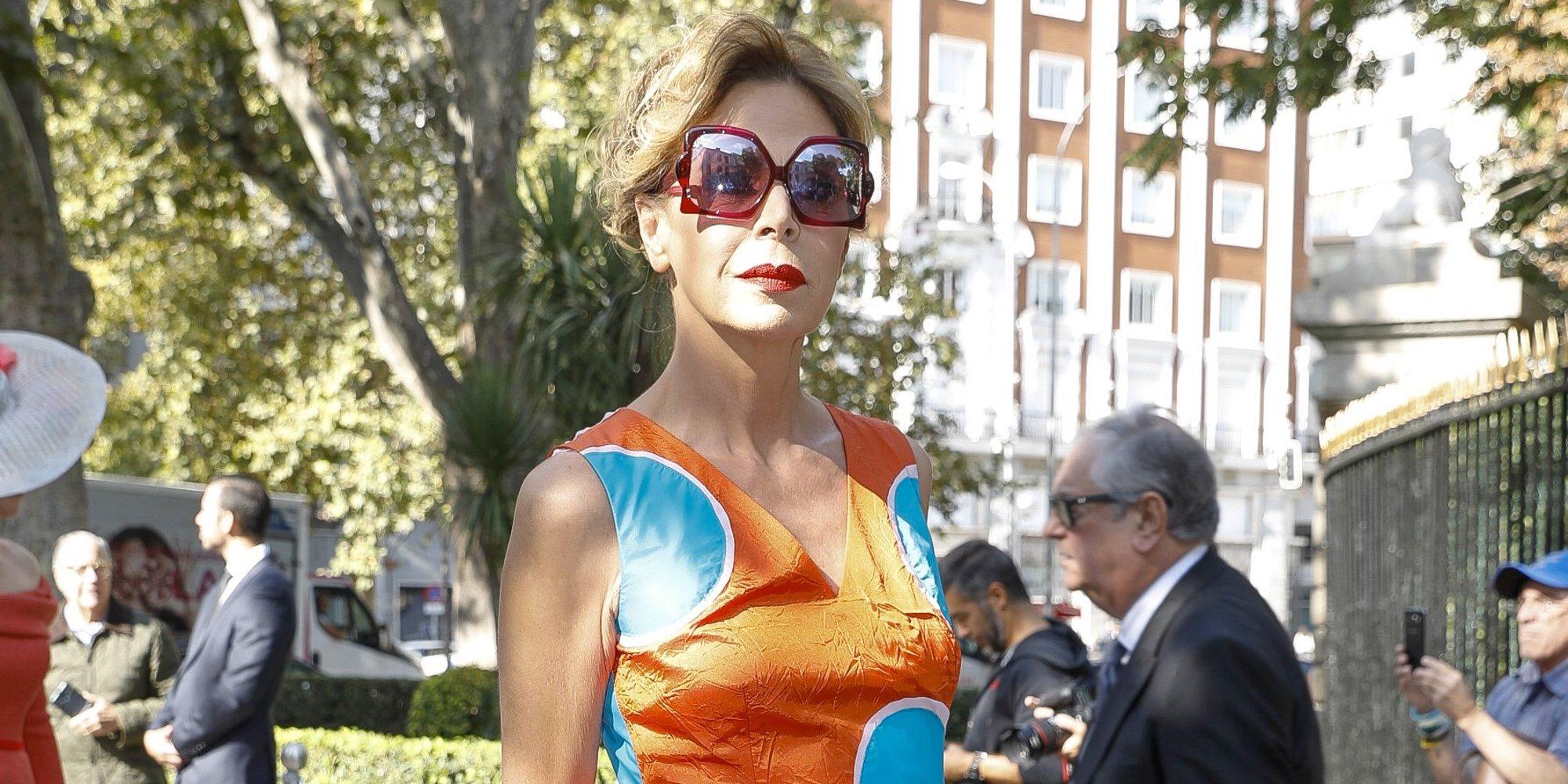 El desagradable encontronazo de Ágatha Ruiz de la Prada con un miembro de la realeza española
