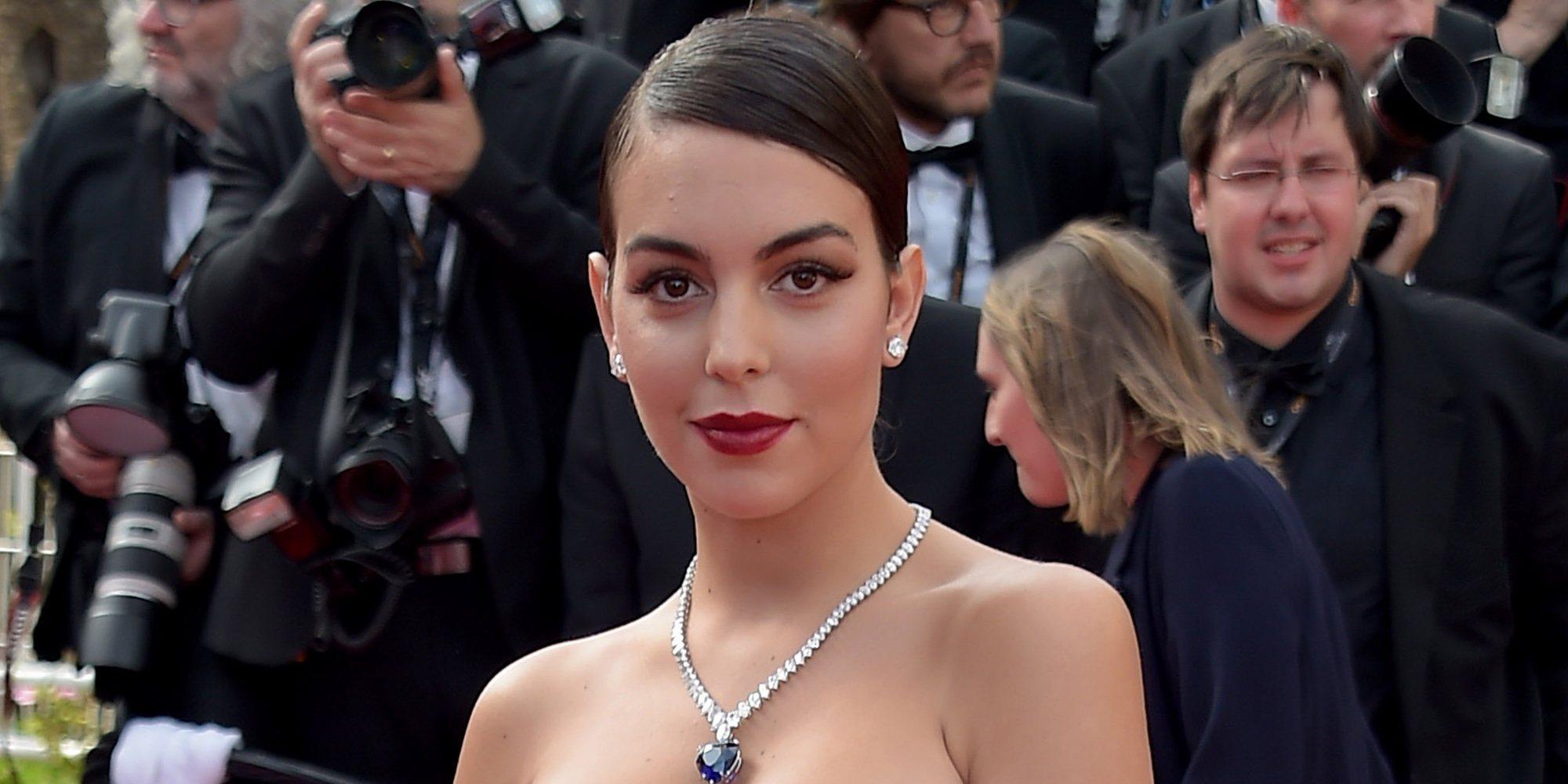 Georgina Rodríguez, como una auténtica estrella en su debut en el Festival de Cannes