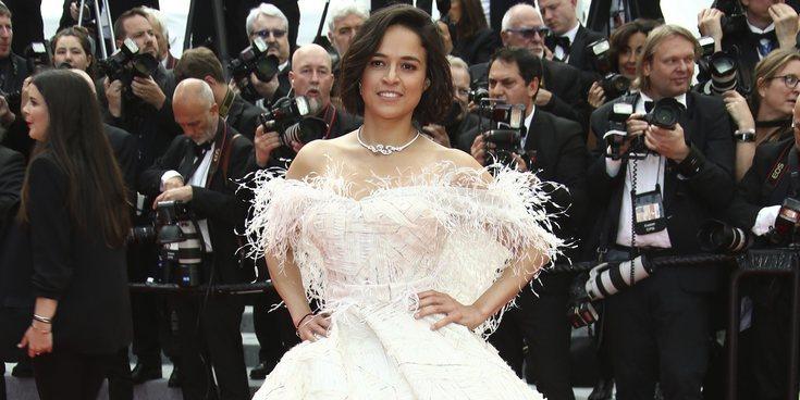 Michelle Rodriguez y Jordan Barrett disfrutan de sus vacaciones en Cannes