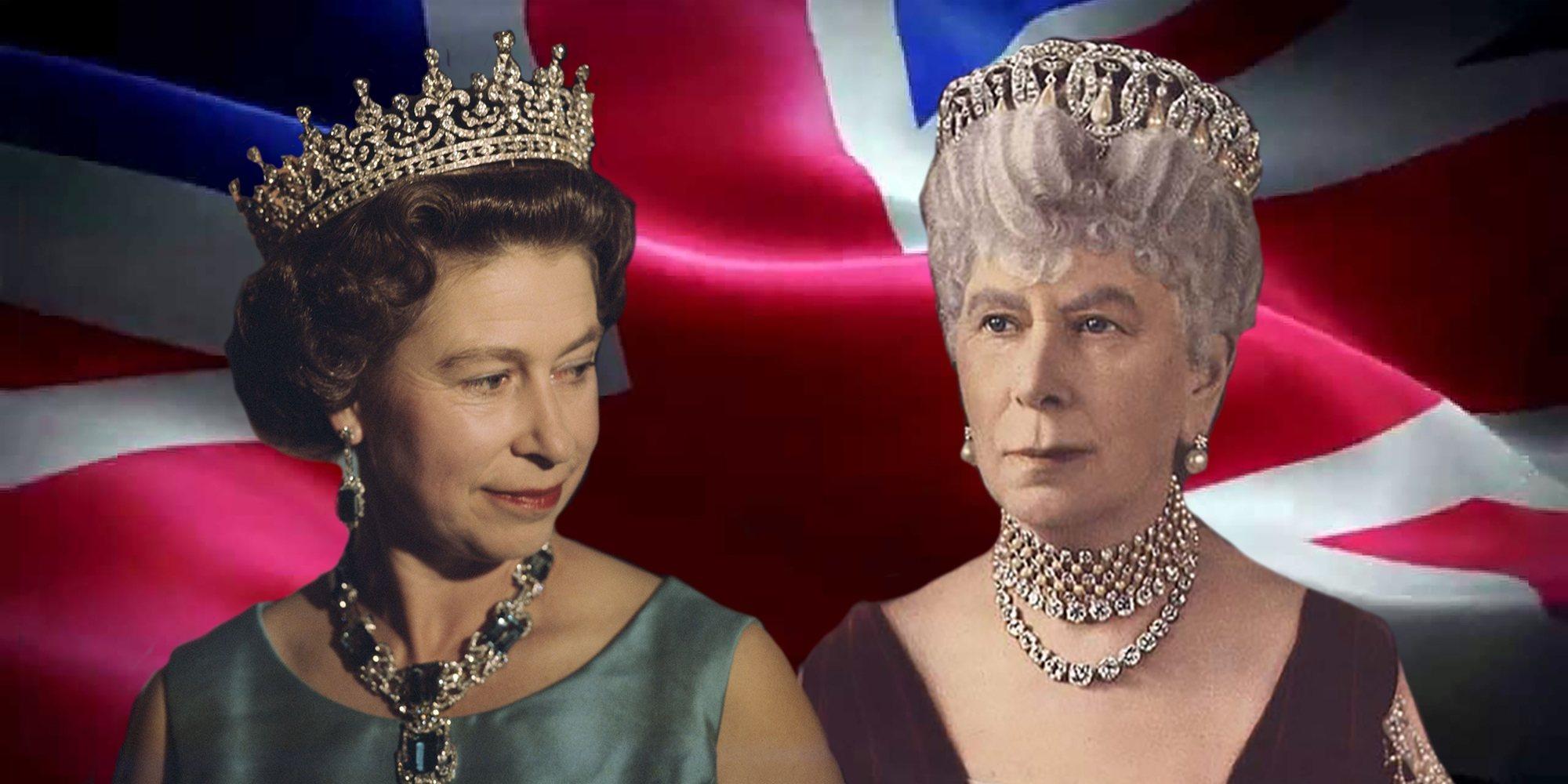 Así ha sido la influencia de María de Teck en la vida de su nieta, la Reina Isabel II