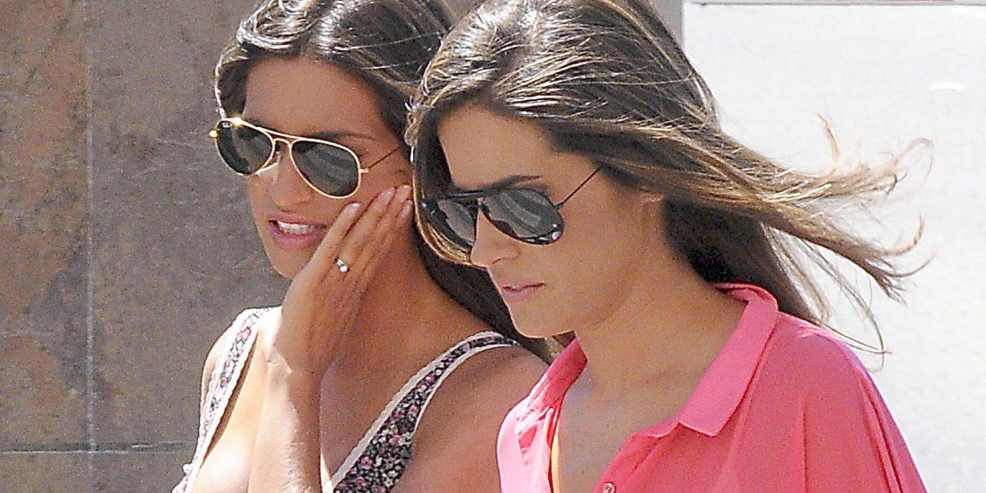Isabel Jiménez visita a Sara Carbonero mientras continúa ingresada en un hospital de Madrid