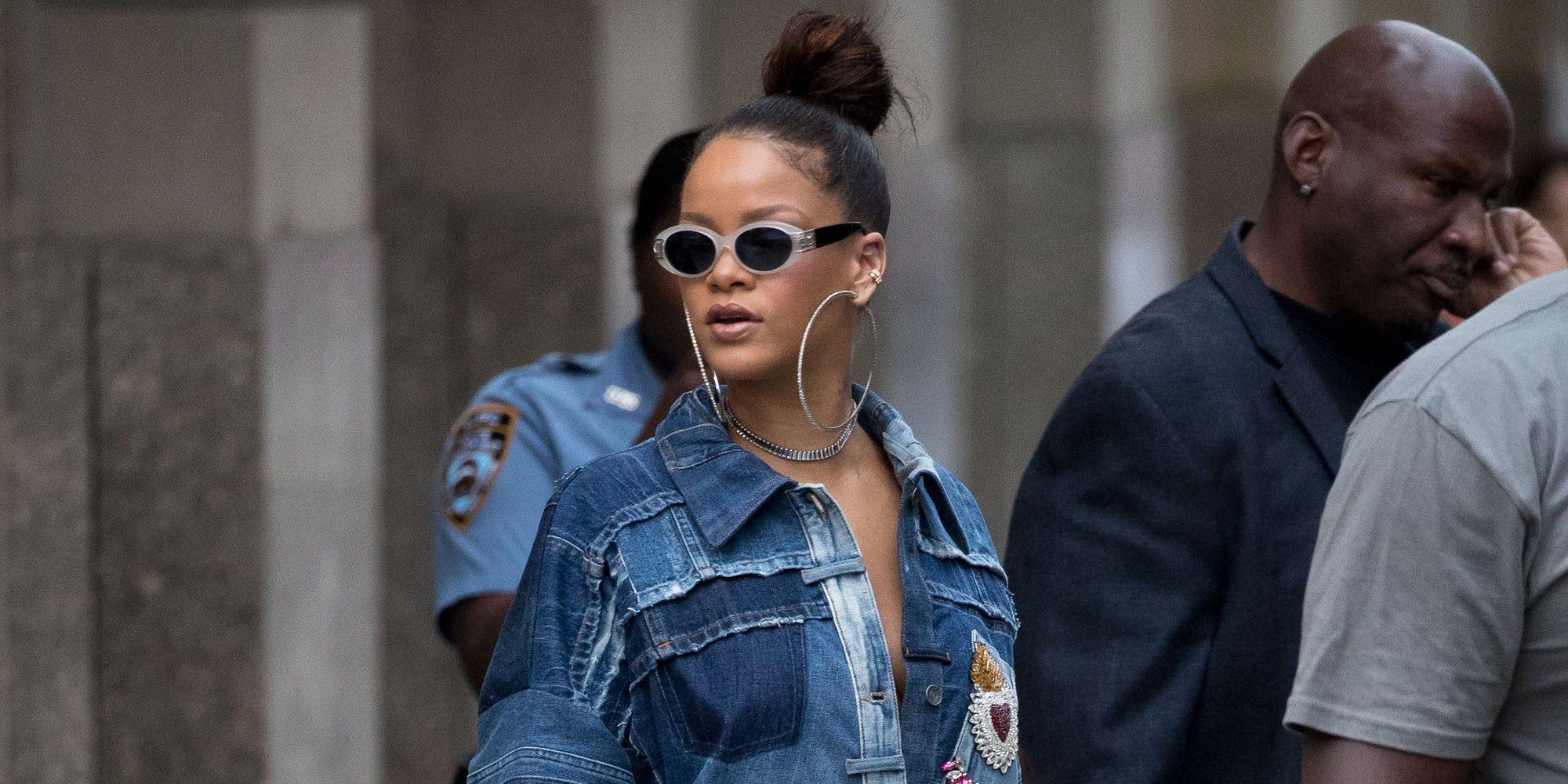 Rihanna revela que lleva un año viviendo en Londres de incógnito