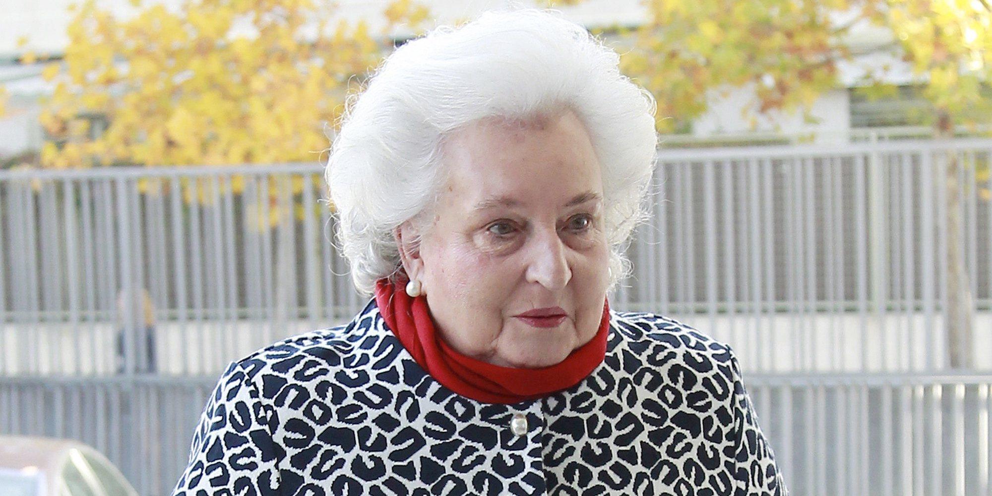 El mal momento de la Infanta Pilar y su familia: cáncer y divorcio
