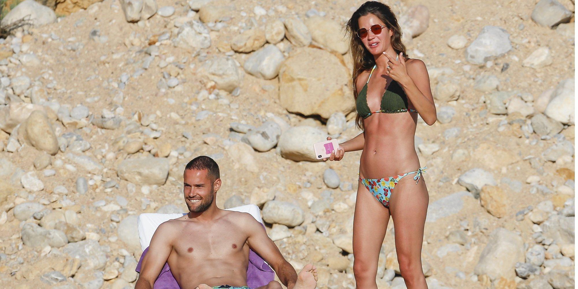 La romántica escapada de Malena Costa y Mario Suárez a Ibiza