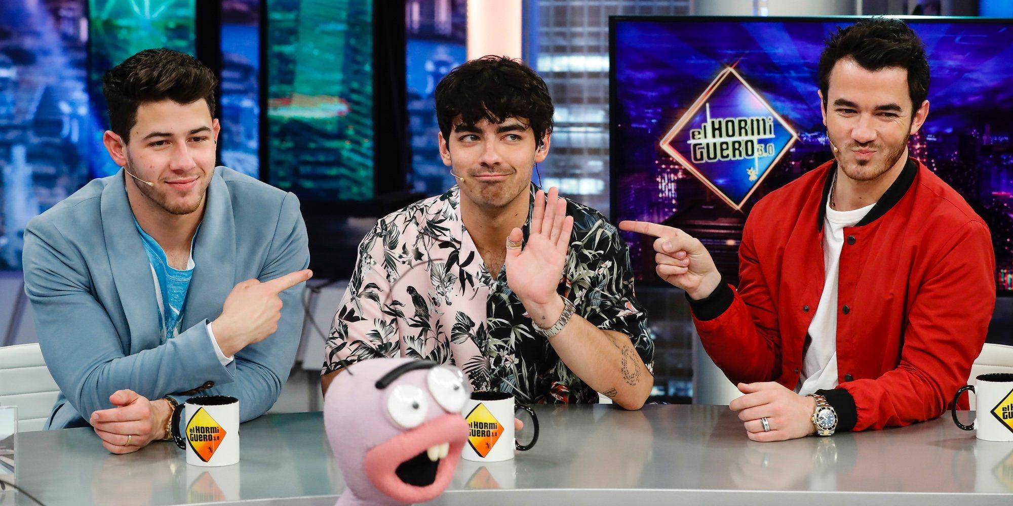 Los Jonas Brothers siguen levantando pasiones tras su vuelta a España en 'El Hormiguero'