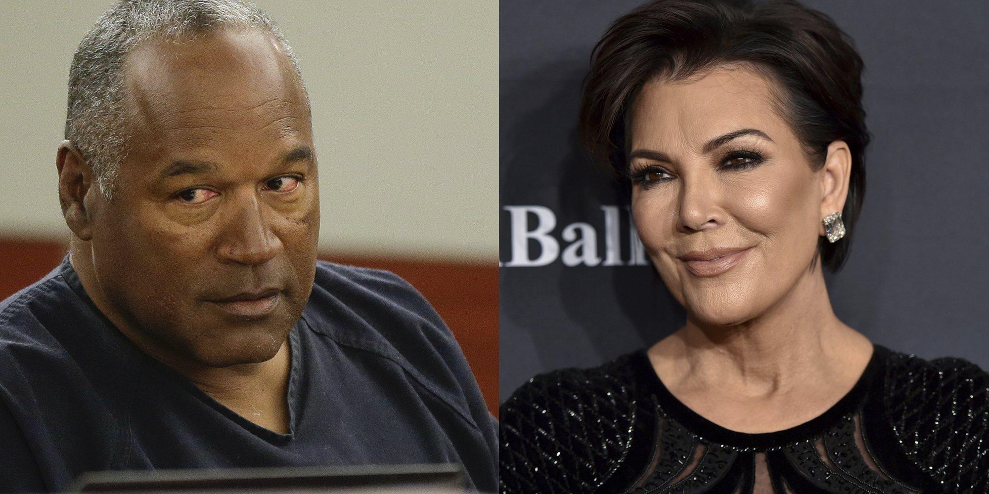 Sale a la luz el affaire entre Kris Jenner y O. J. Simpson que acabó con la momager en el hospital