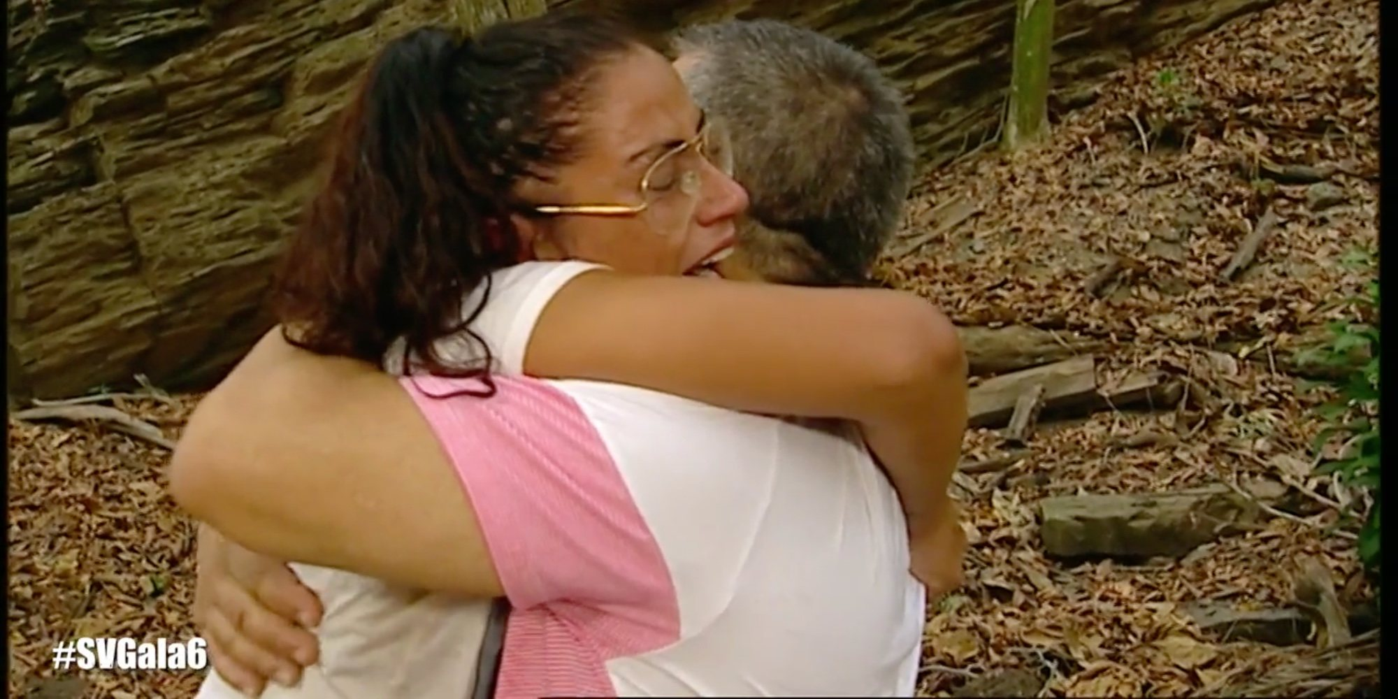 El emotivo reencuentro entre Dakota y su padre tras su ordinario comentario a Jorge Javier Vázquez en 'Supervivientes 2019'