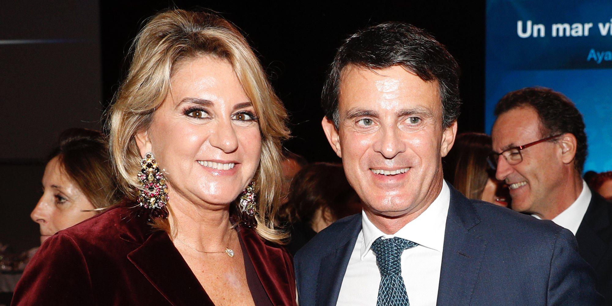 Manuel Valls anuncia su compromiso con Susana Gallardo tras un año de relación