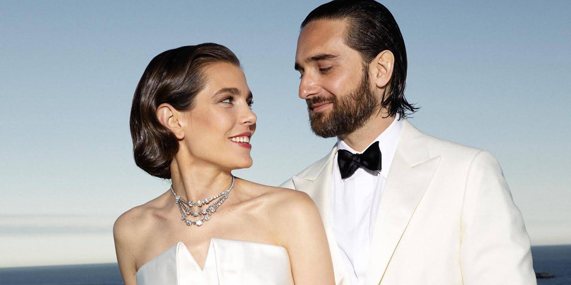 La boda poco tradicional de Carlota Casiraghi y Dimitri Rassam