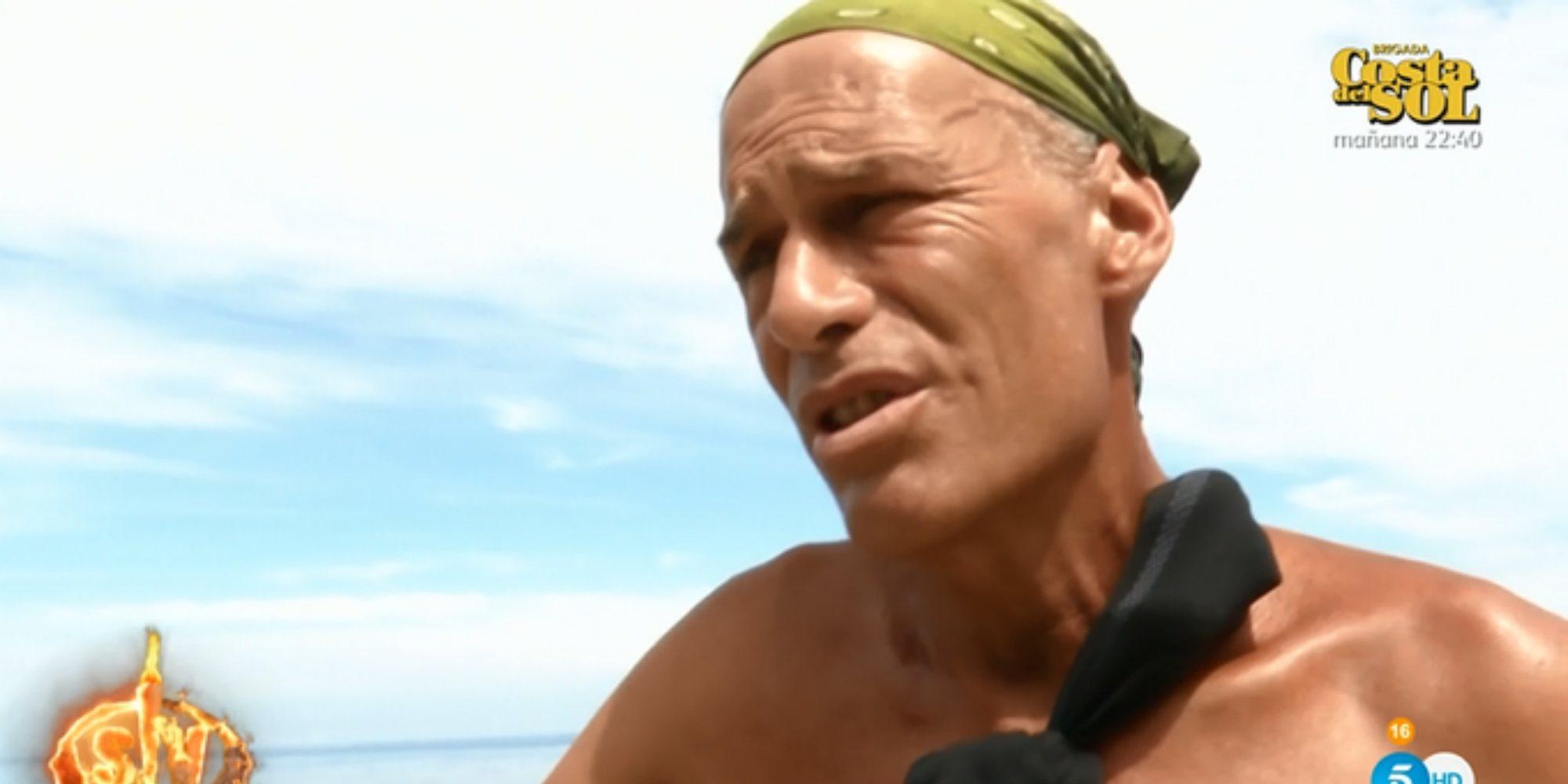 Carlos Lozano, sancionado por traspasar los límites de la isla en 'SV 2019'