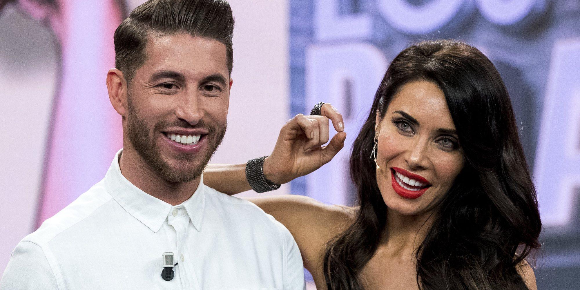 Pilar Rubio y Sergio Ramos contarán con Niña Pastori y AC/DC en su boda en la que no habrá menores de edad