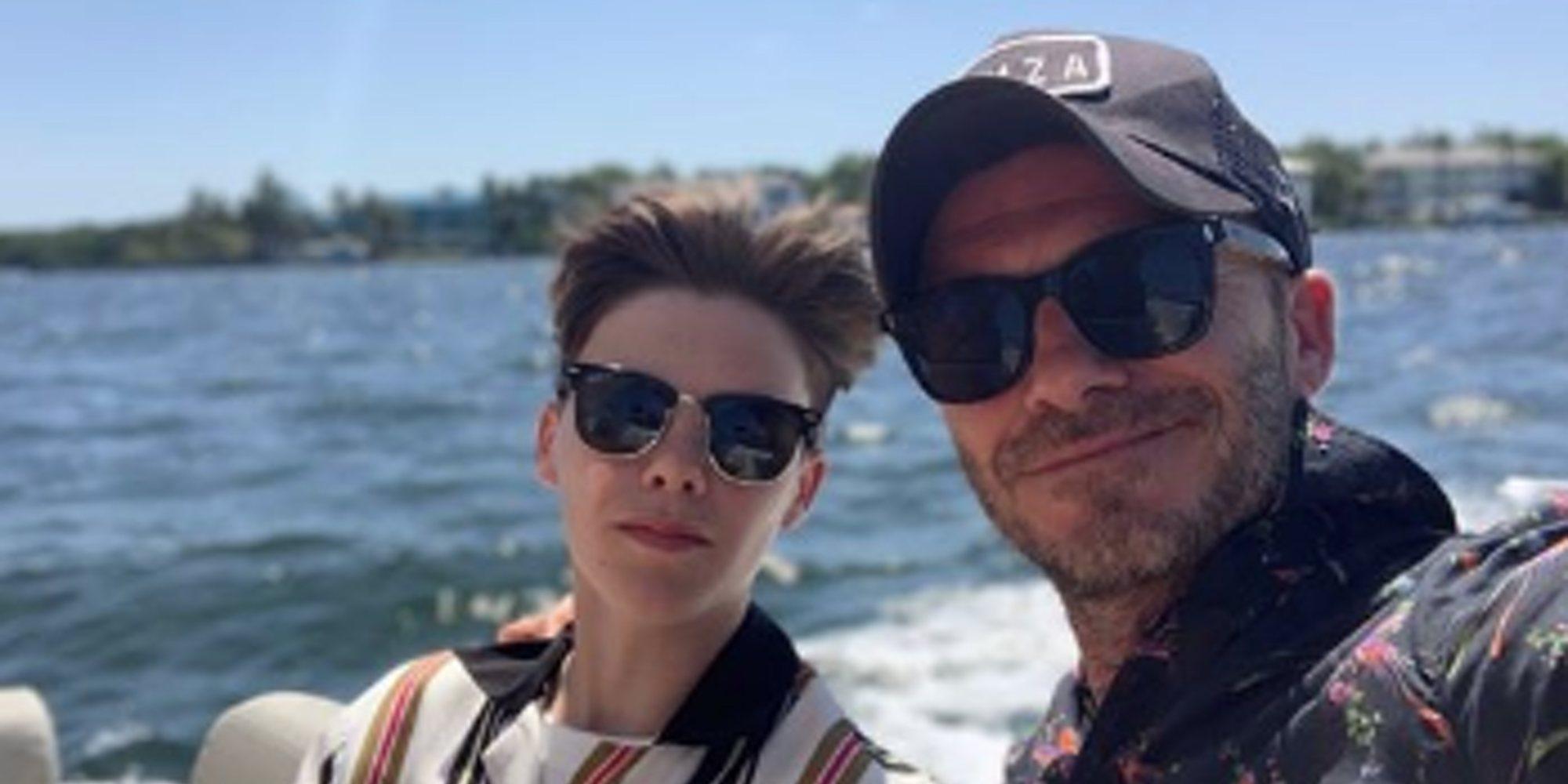 Los Beckham al completo disfrutan de unas vacaciones en Miami