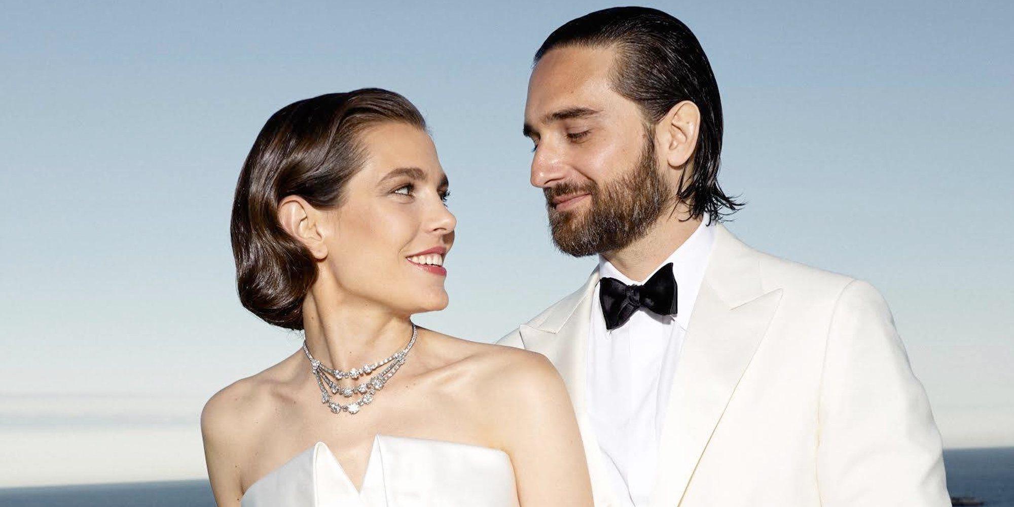 Todo lo que la boda de Carlota Casiraghi y Dimitri Rassam ha desvelado sobre la Familia Real de Mónaco
