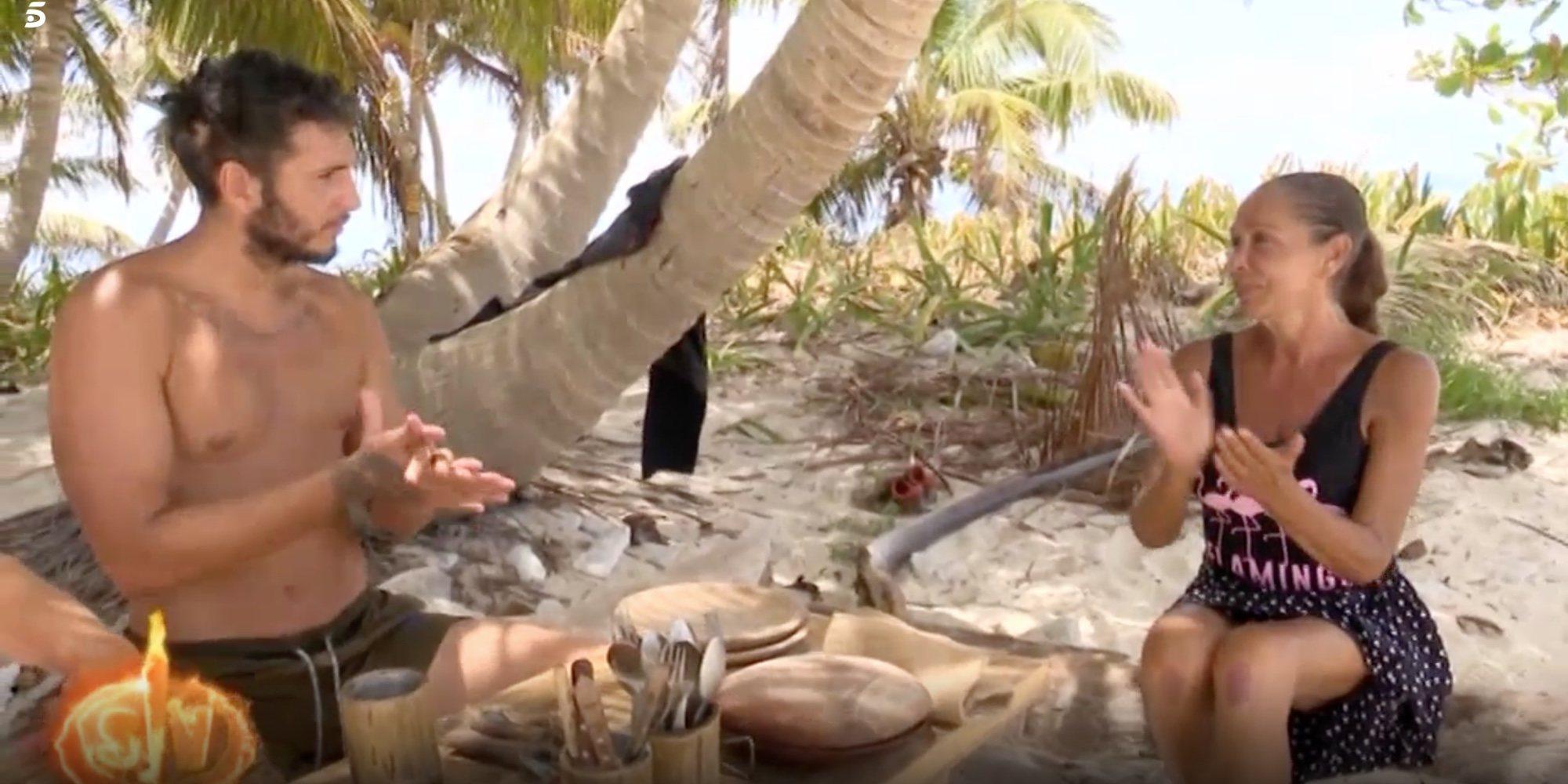 Isabel Pantoja y Omar Montes, más unidos que nunca en 'Supervivientes 2019'