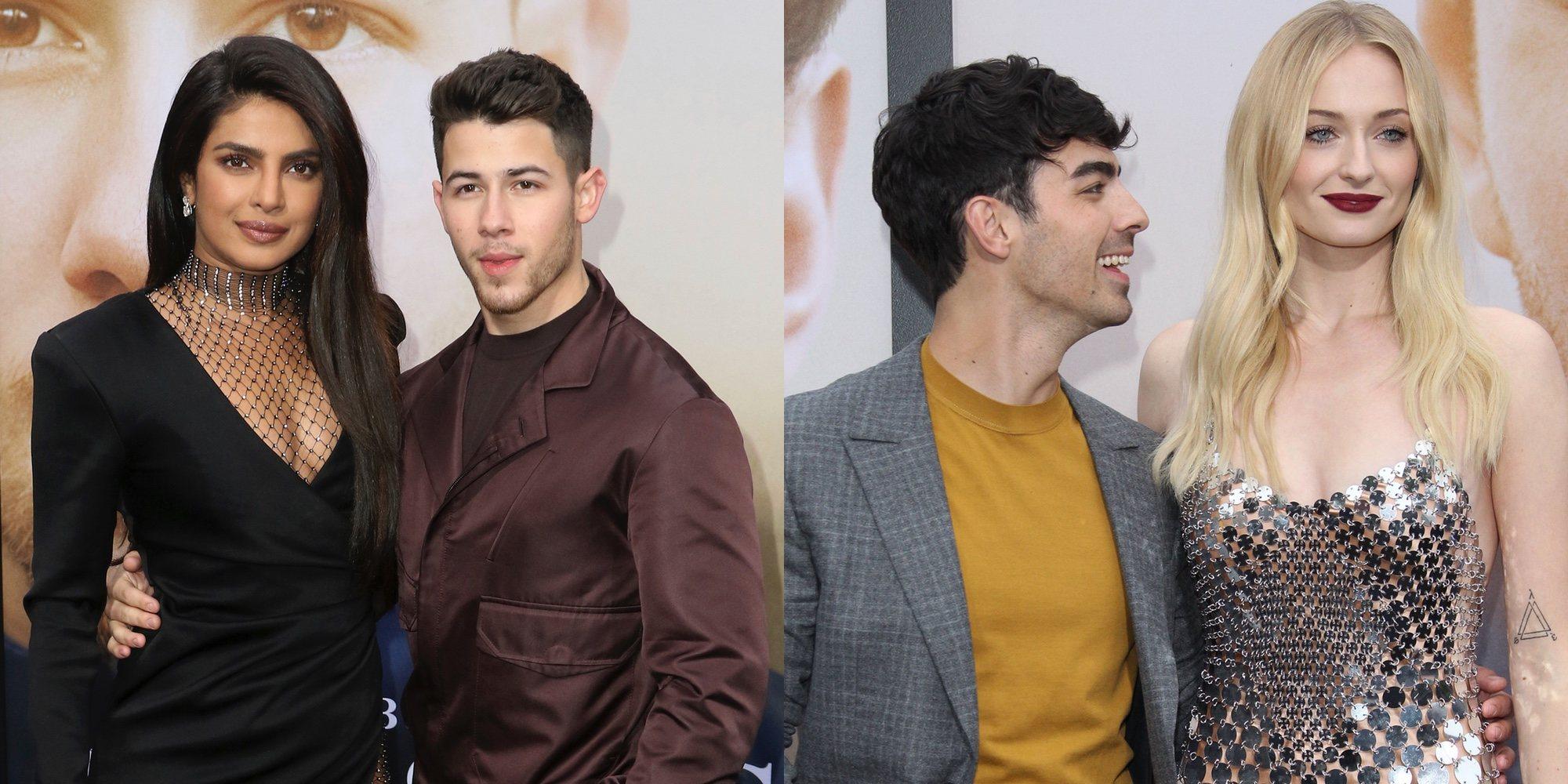 Los Jonas Brothers presentan 'Chassing Happiness' en los Ángeles con las mujeres de su vida