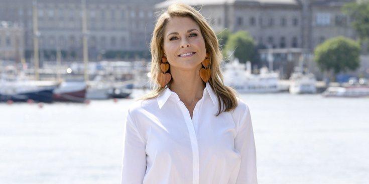 Magdalena de Suecia, radiante y emocionada en la presentación de su libro 'Stella y el secreto'