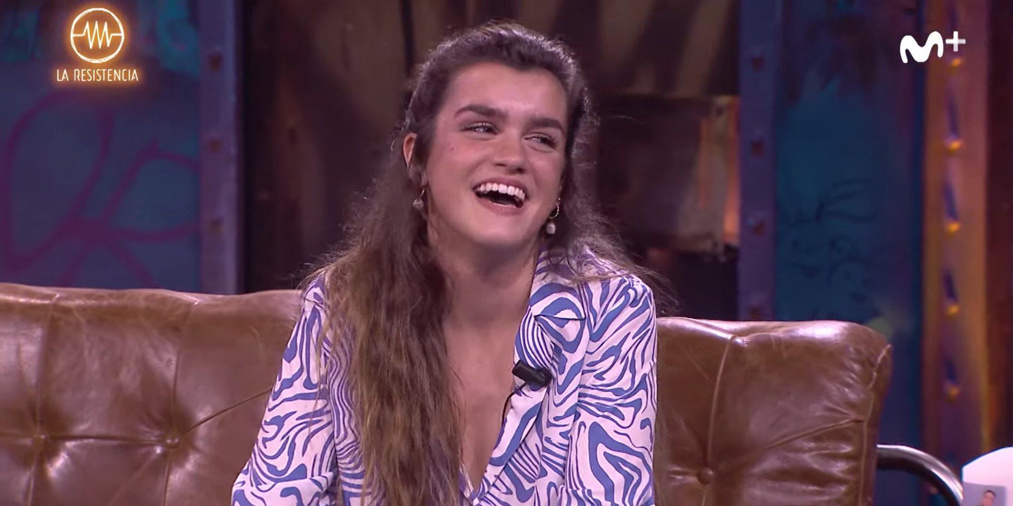 """Amaia se niega a responder a la pregunta sobre sexo de Broncano porque """"los fans de 'OT' están muy locos"""""""