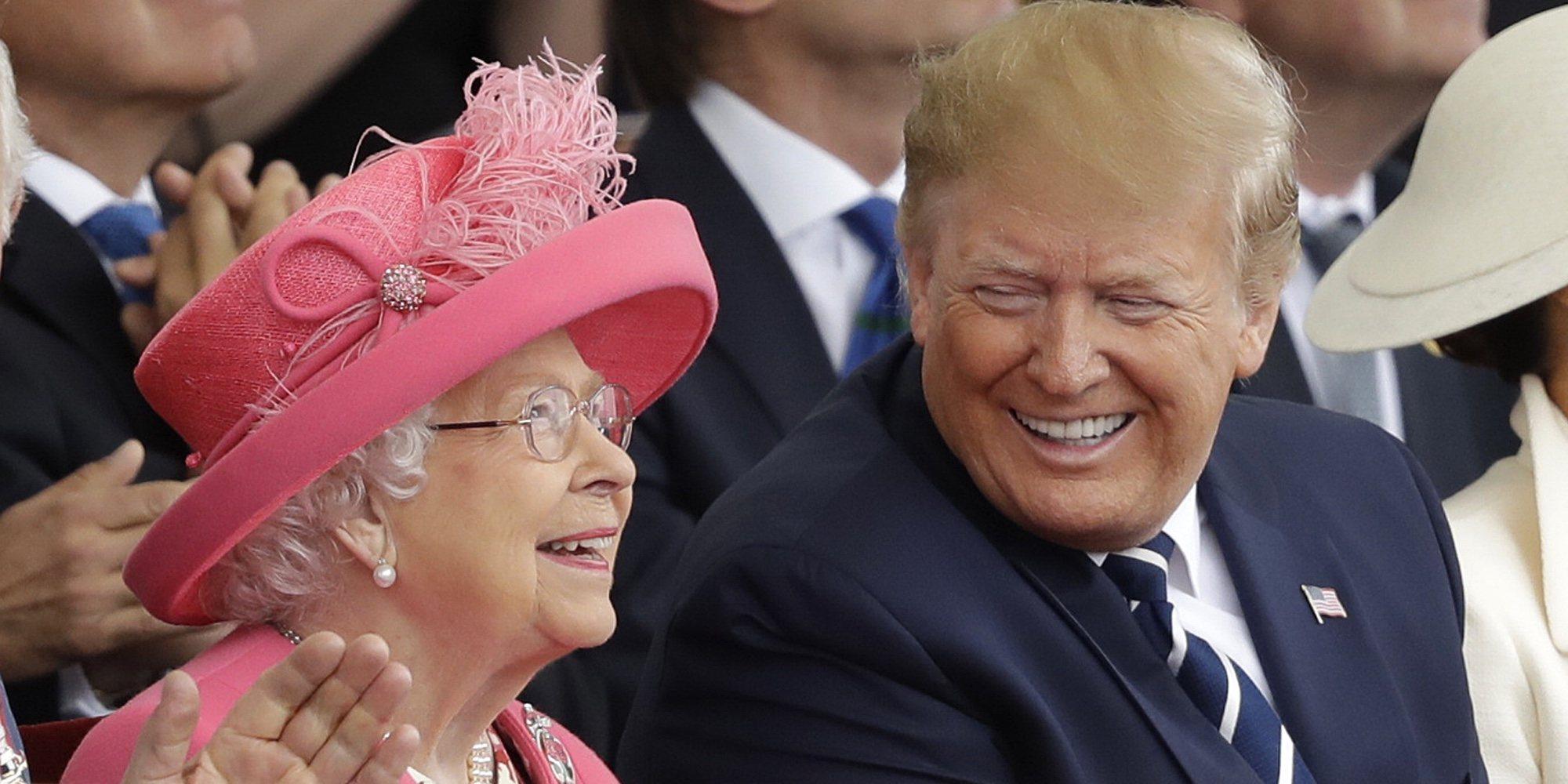 La cariñosa despedida de la Reina Isabel a Donald Trump para agradecerle su Visita de Estado a Reino Unido