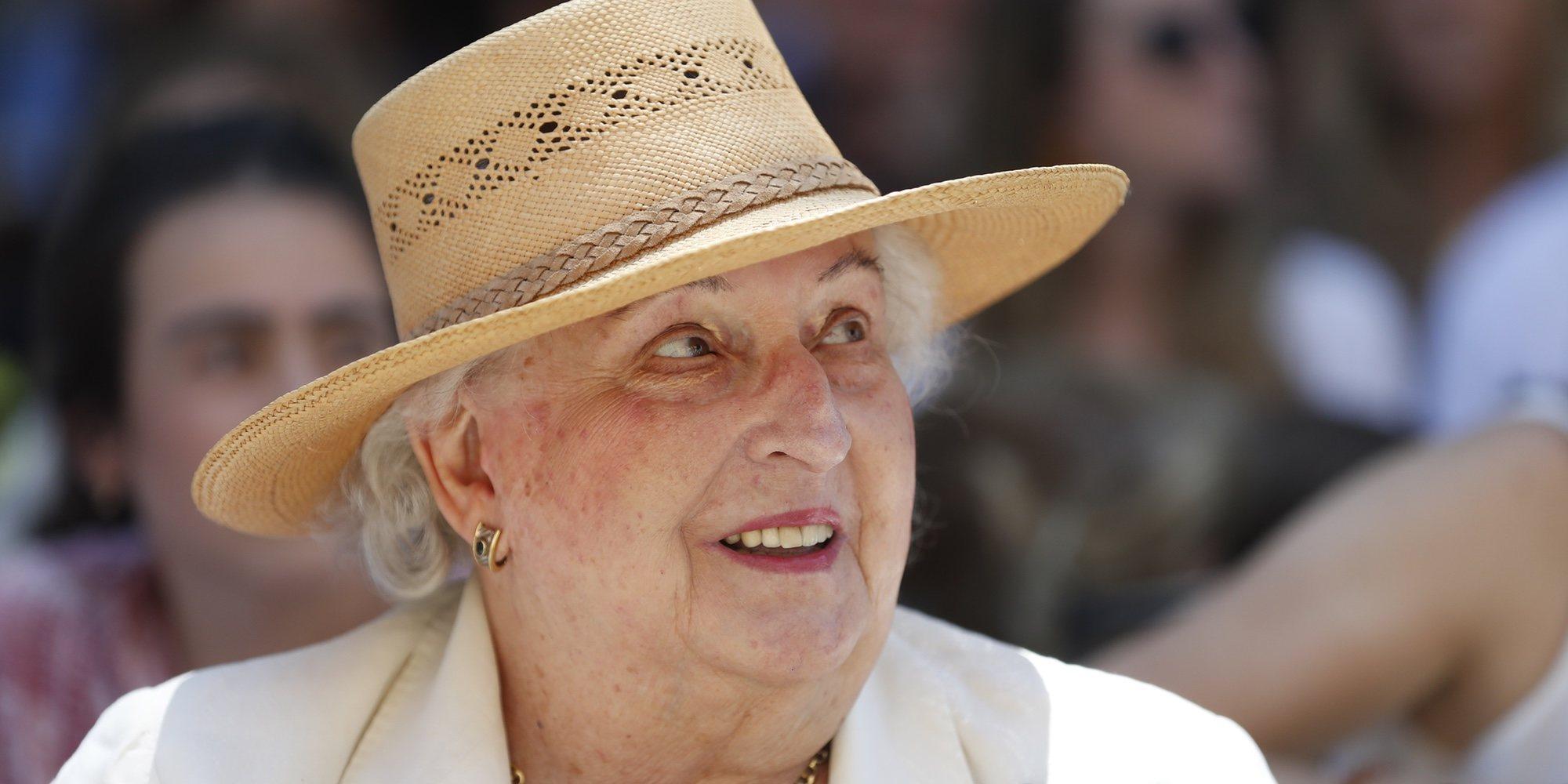 La Infanta Pilar aparece imparable como Presidenta Honorífica de un evento solidario