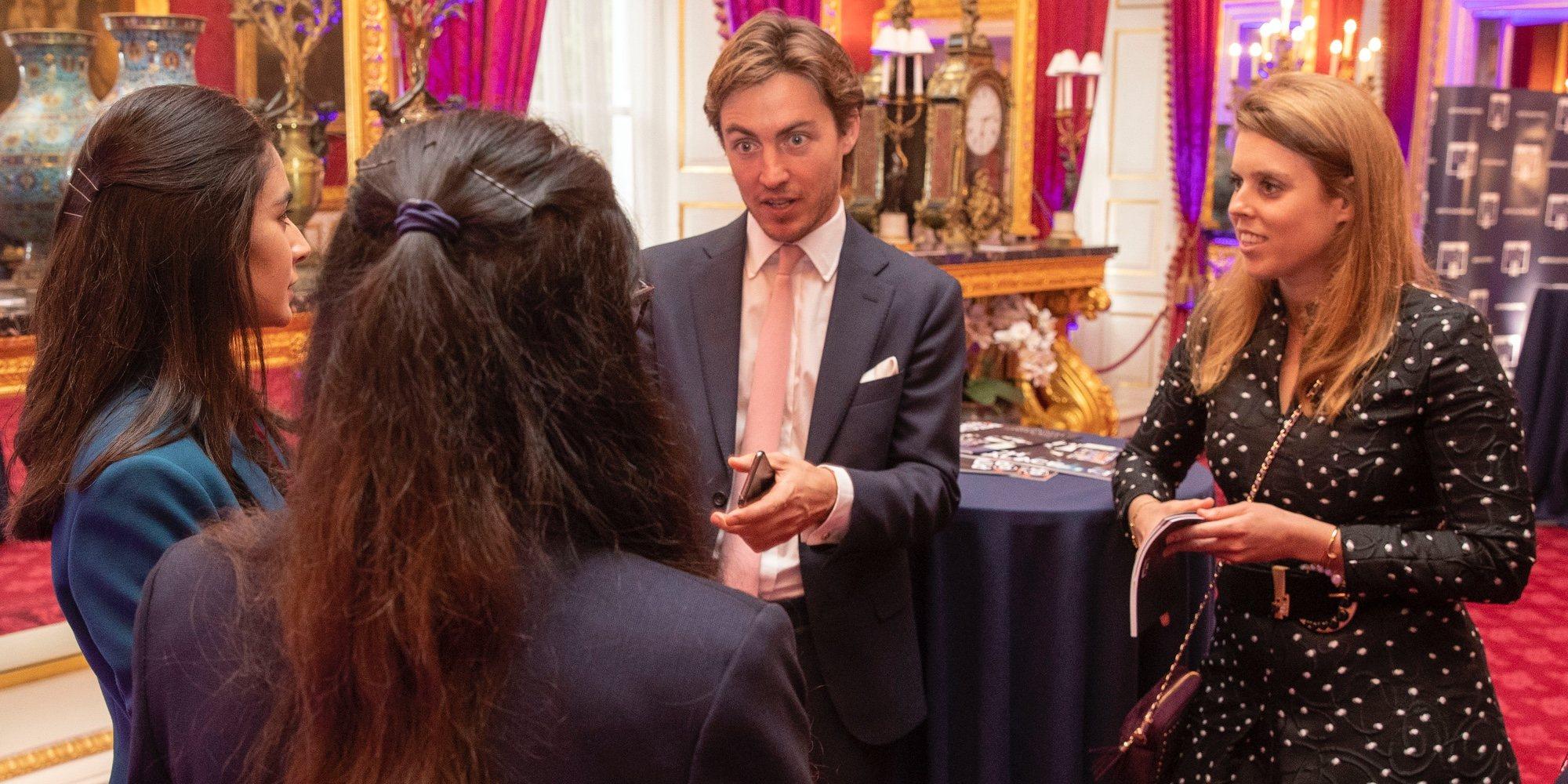 Edoardo Mapelli Mozzi, uno más de la familia en un acto oficial con la Princesa Beatriz y los Duques de York