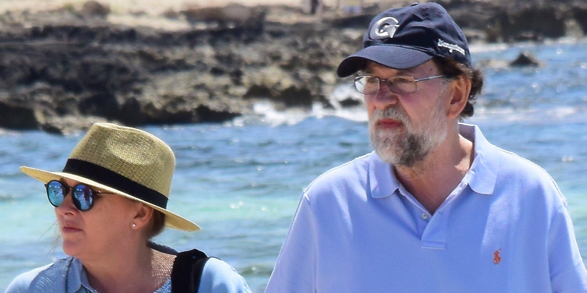 Mariano Rajoy y Elvira Fernández disfrutan de unas vacaciones en Formentera