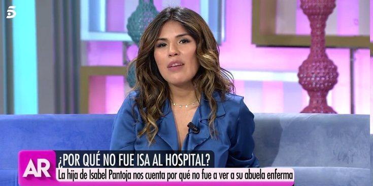 """Chabelita responde a Anabel Pantoja: """"Ir al hospital lo verían como una provocación"""""""