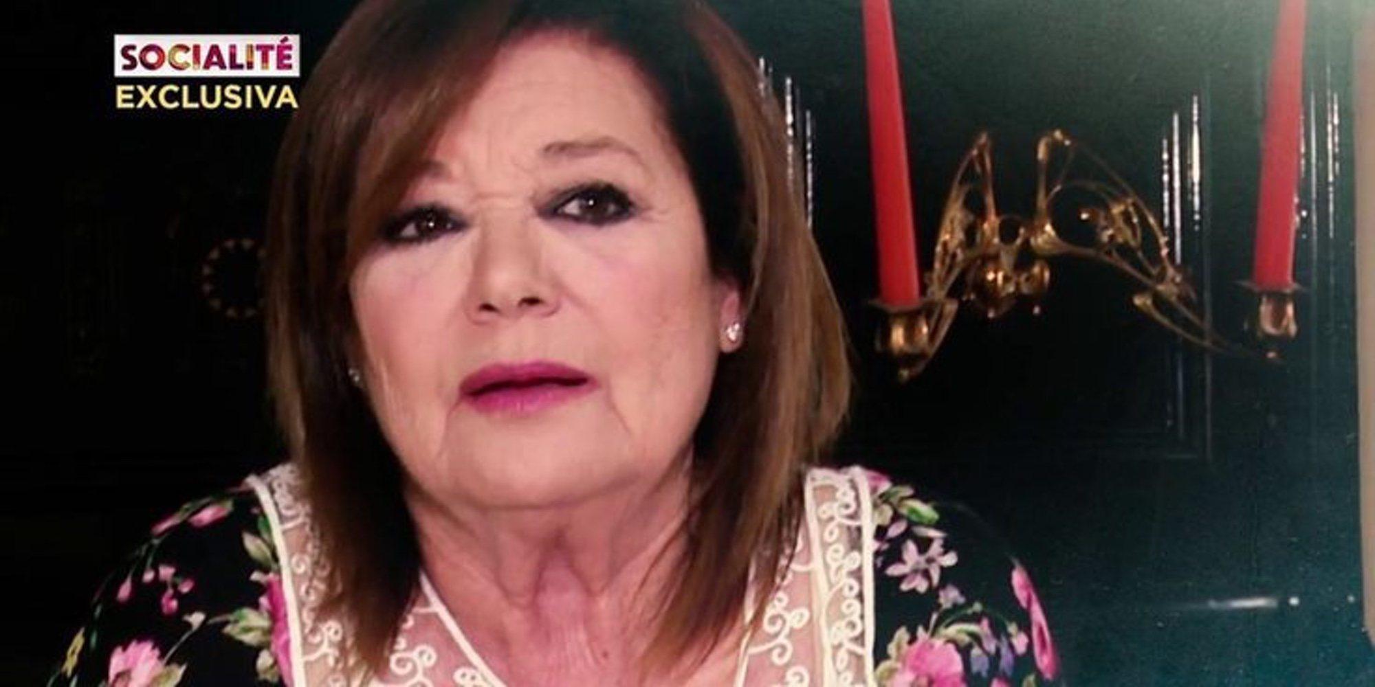 Teresa Rabal aclara su situación económica y personal