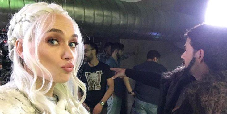 La increíble transformación de Patricia Conde en Daenerys Targaryen