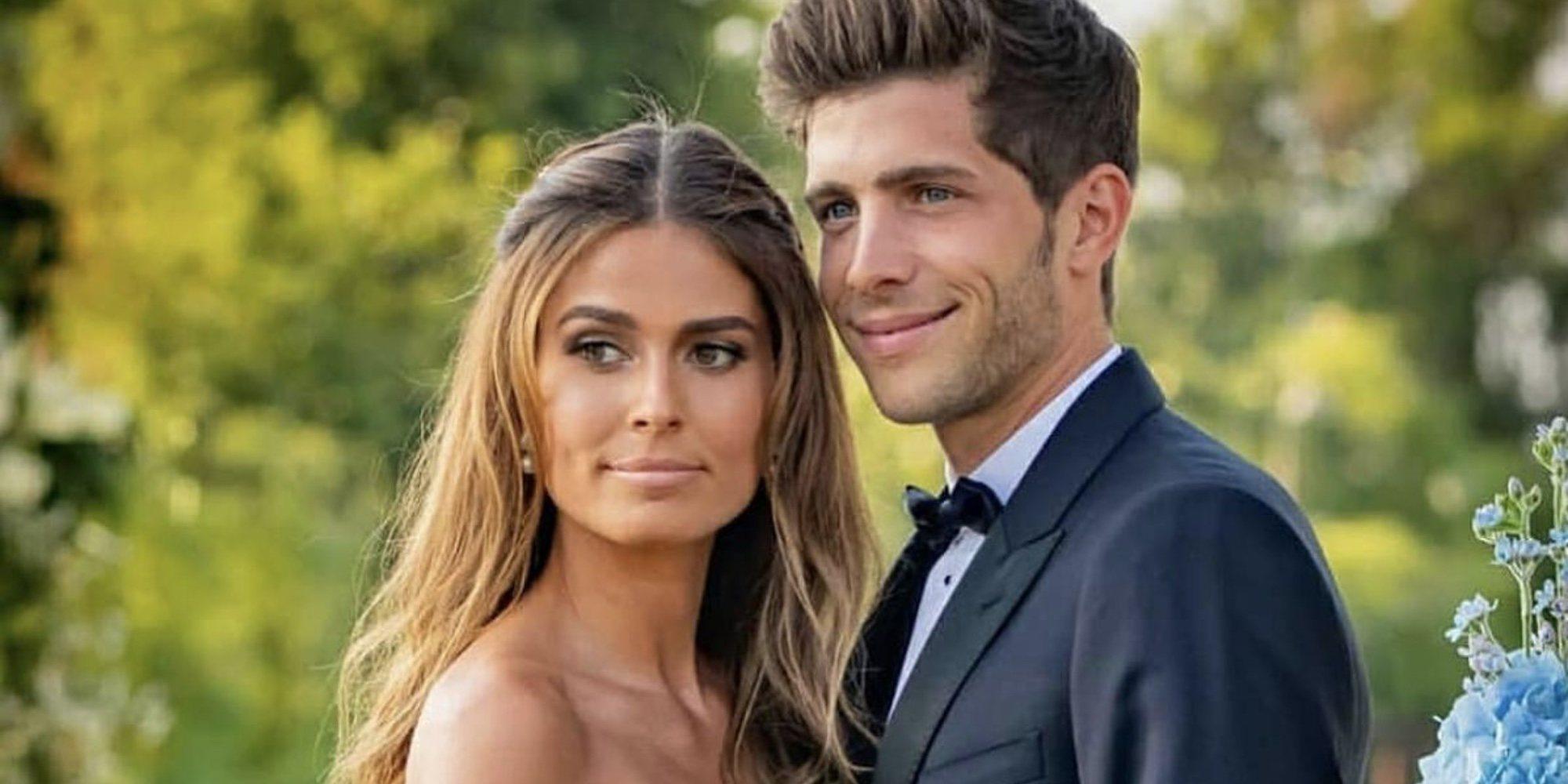 Coral Simanovich y Sergi Roberto están esperando su primer hijo