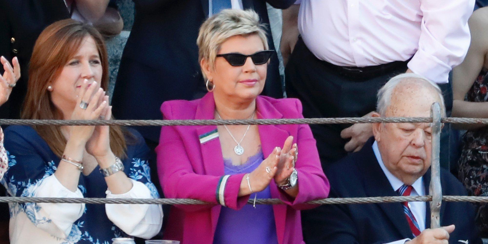 Terelu Campos reaparece en las Ventas tras la polémica de la supuesta participación de Ale Rubio en 'GH VIP'