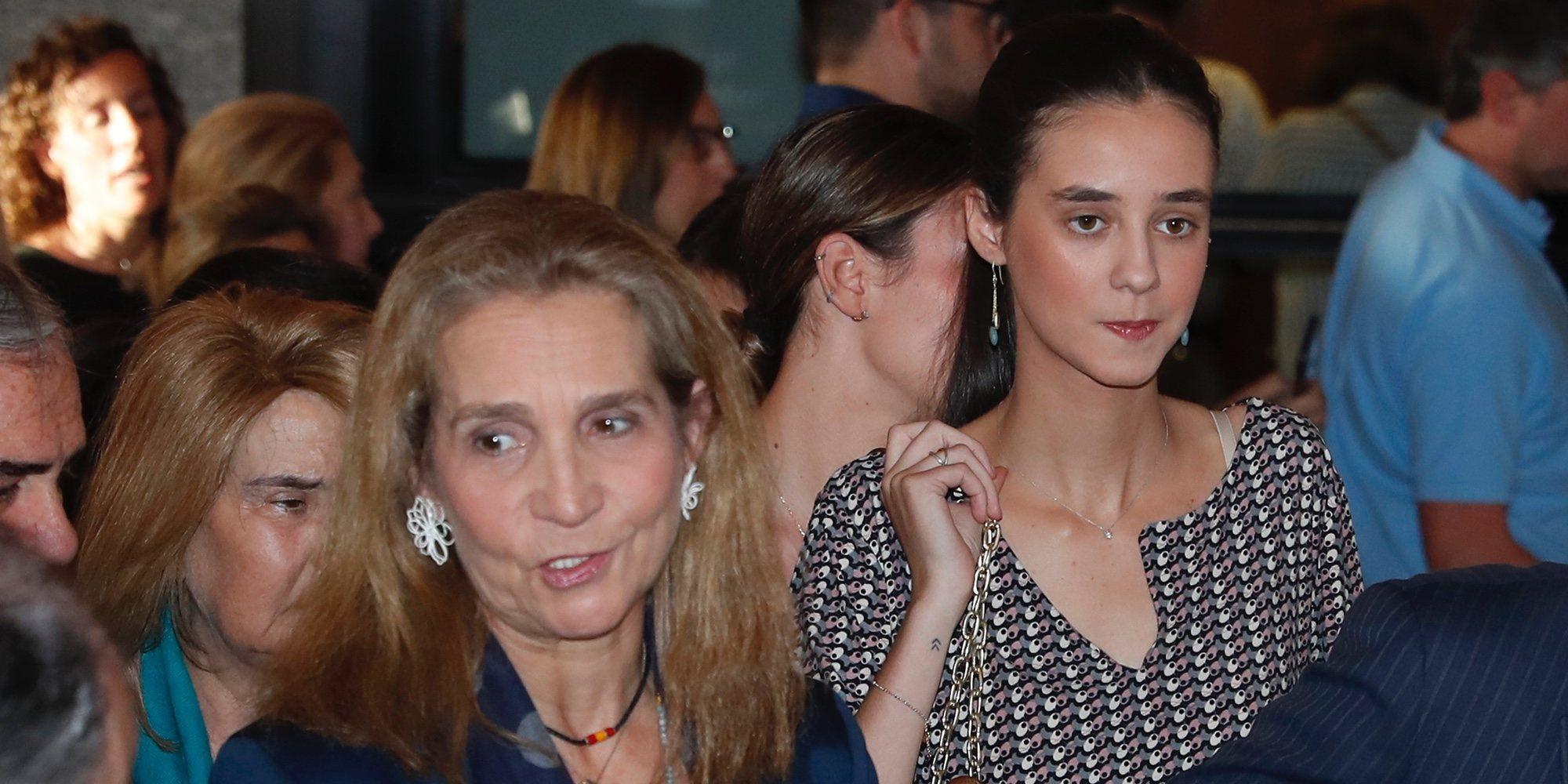 El rifirrafe de la Infanta Elena y Victoria Federica en un concierto en Madrid