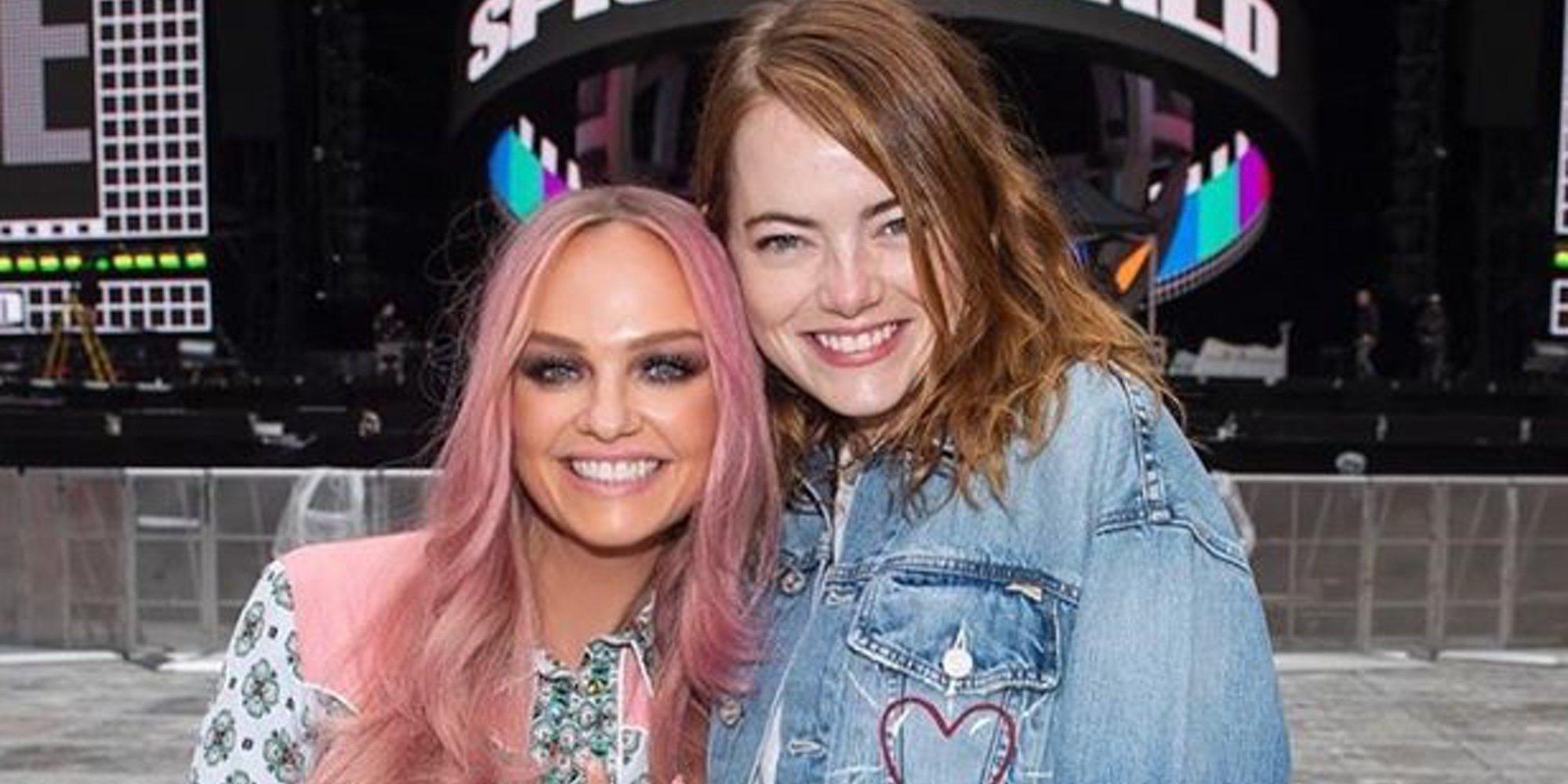 Emma Stone cumple su sueño de conocer a Emma Bunton, su favorita de las Spice Girls