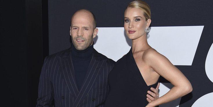 Jason Statham y Rosie Huntington-Whiteley, de vacaciones familiares en Italia