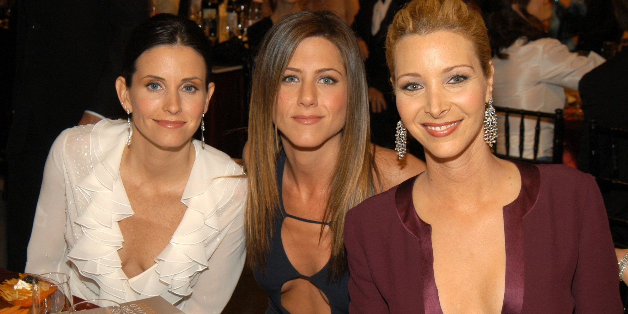 Courteney Cox celebra su 55 cumpleaños con sus 'Friends' Jennifer Aniston y Lisa Kudrow