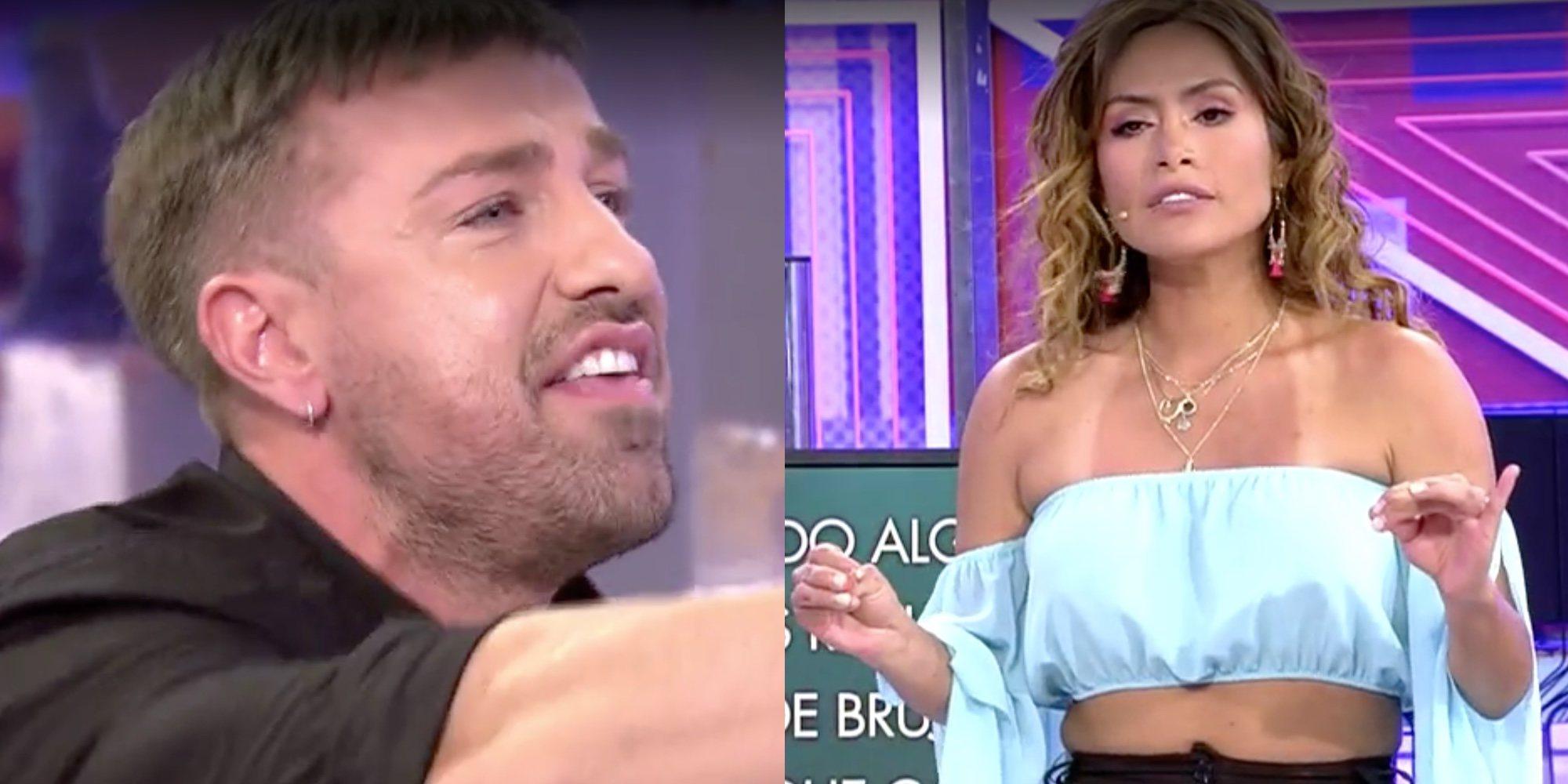 """La bronca entre Miriam Saavedra y Rafa Mora en el 'Deluxe': """"En los pasillos me hace ojitos y aquí me critica"""""""
