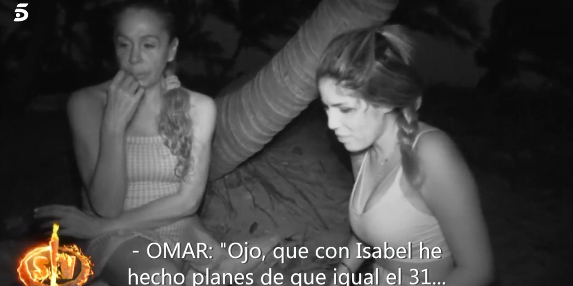 'SV2019': Omar le cuenta a Chabelita que ha hecho planes con Isabel Pantoja para ir en Nochevieja a Cantora