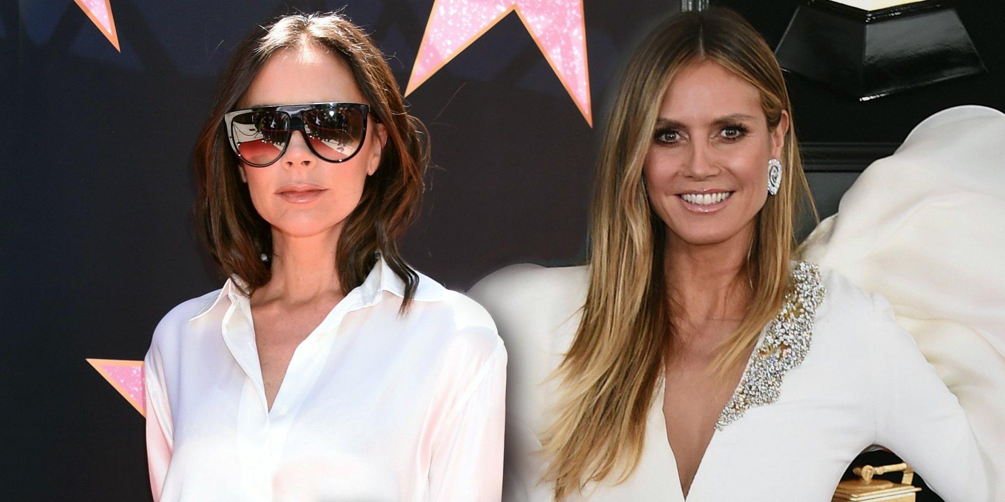 Enemigas Íntimas: Victoria Beckham y Heidi Klum, historia de una amistad rota por un guardaespaldas