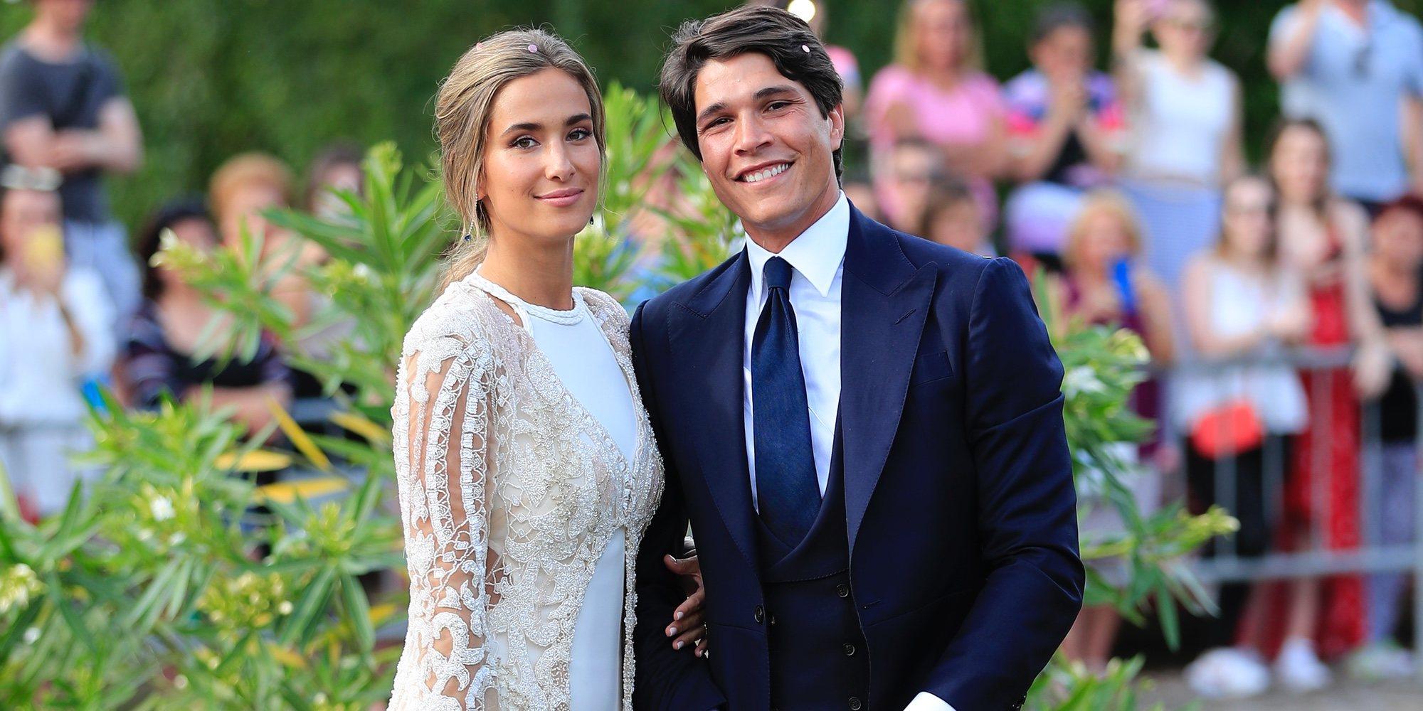 María Pombo y Pablo Castellano ya son marido y mujer: así ha sido la boda