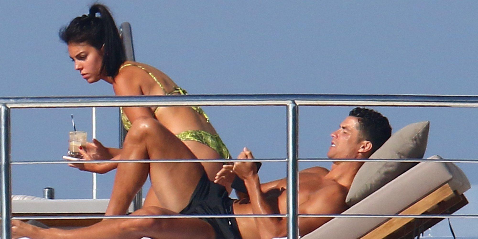 Cristiano Ronaldo y Georgina Rodríguez disfrutan de la Riviera francesa rodeados de lujo y diversión