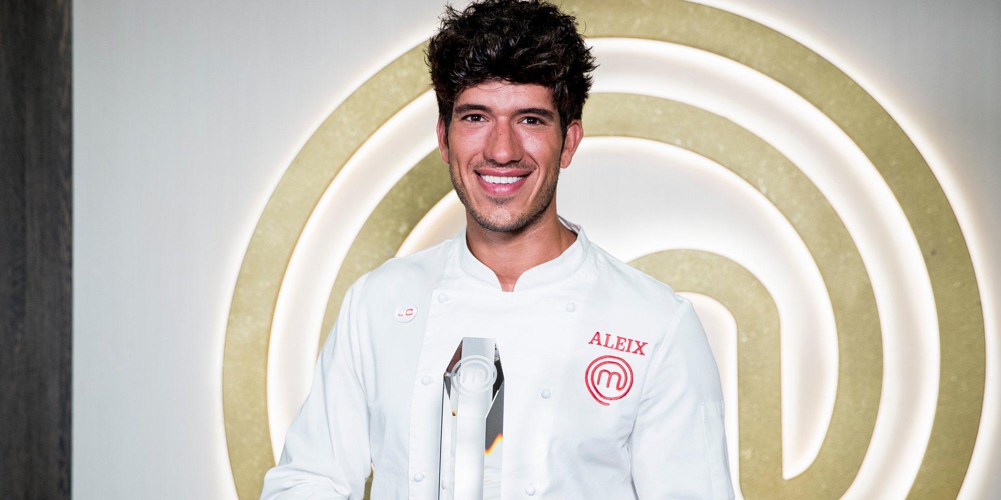 Así es Aleix Puig, el flamante ganador de 'MasterChef 7' que pasa de pescadero a cocinero